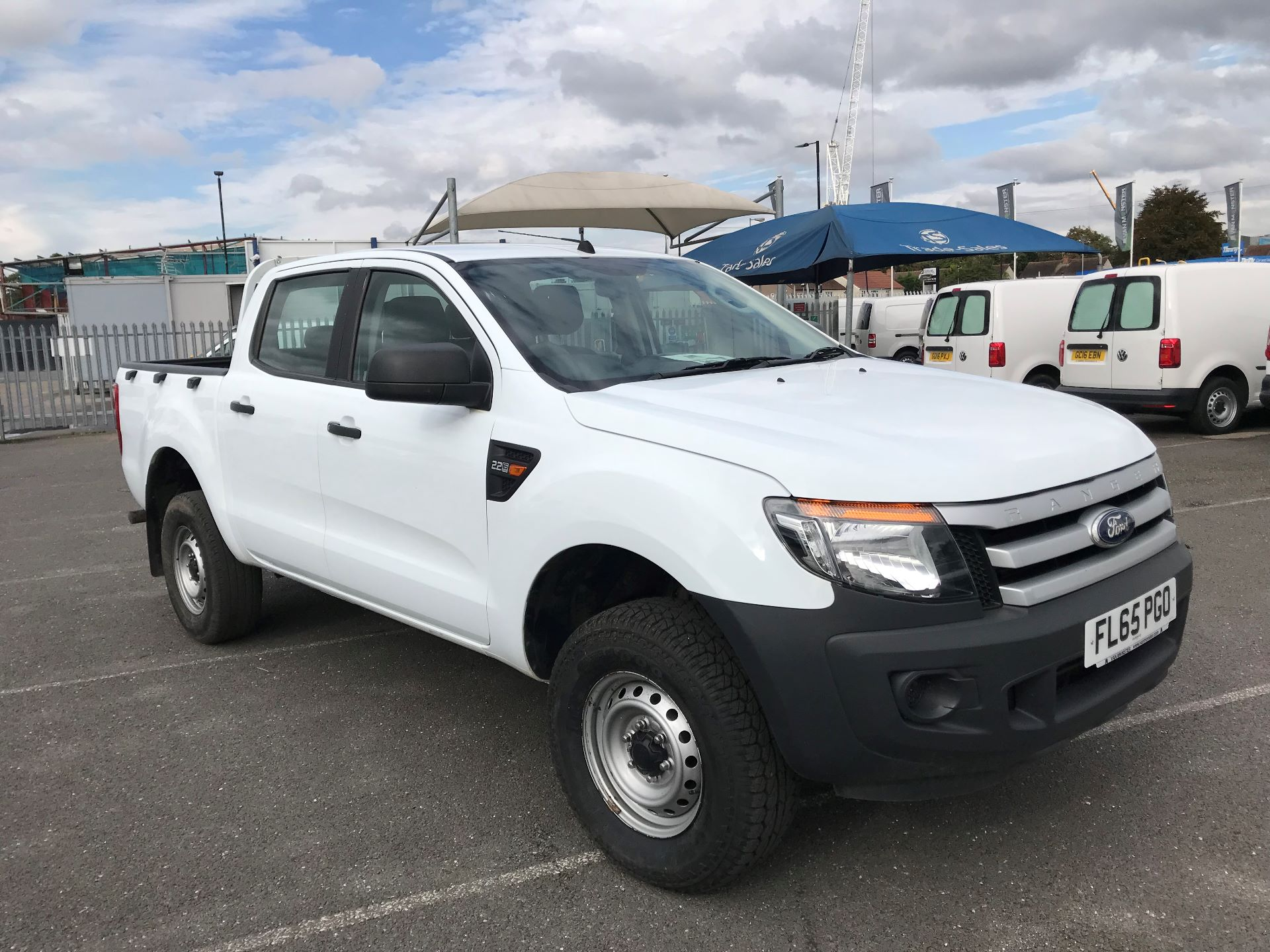 2015 Ford Ranger Pick Up Double Cab Xl 2.2 Tdci 150 4Wd Euro 5 (FL65PGO)