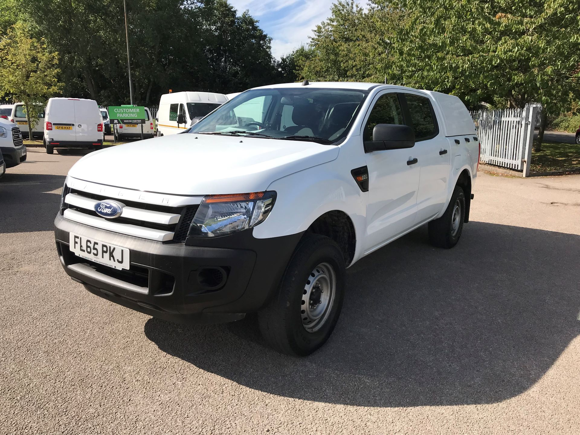 2015 Ford Ranger  Double Cab Pick Up XL 2.2 150 4WD EURO 5 (FL65PKJ)