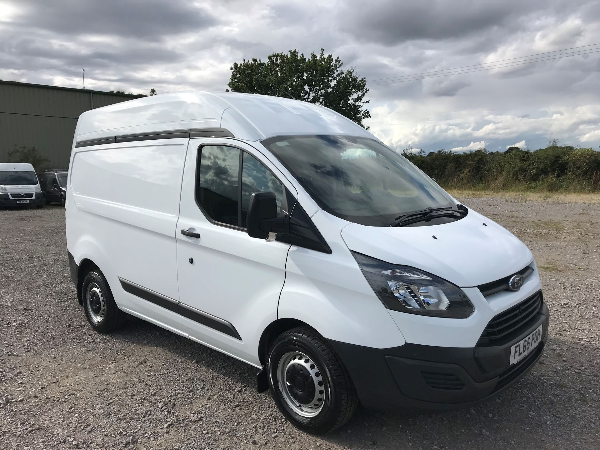 2015 Ford Transit Custom 290 L1 DIESEL FWD 2.2  TDCI 100PS LOW ROOF VAN EURO 5 (FL65POH)