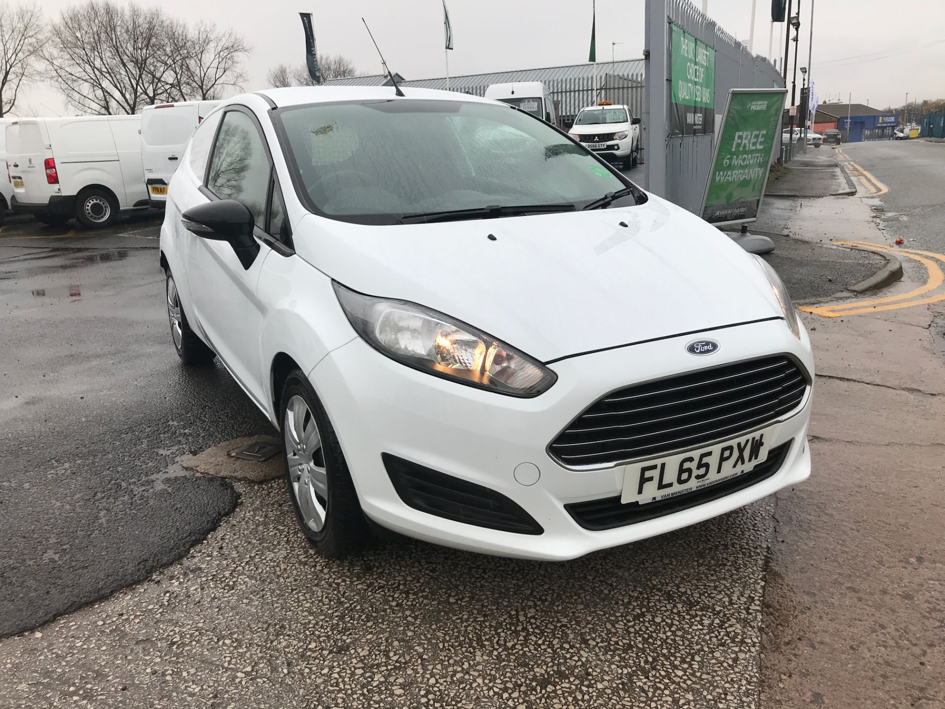 2015 Ford Fiesta 1.5TDCI 75PS EURO 5, AIR CON (FL65PXW)