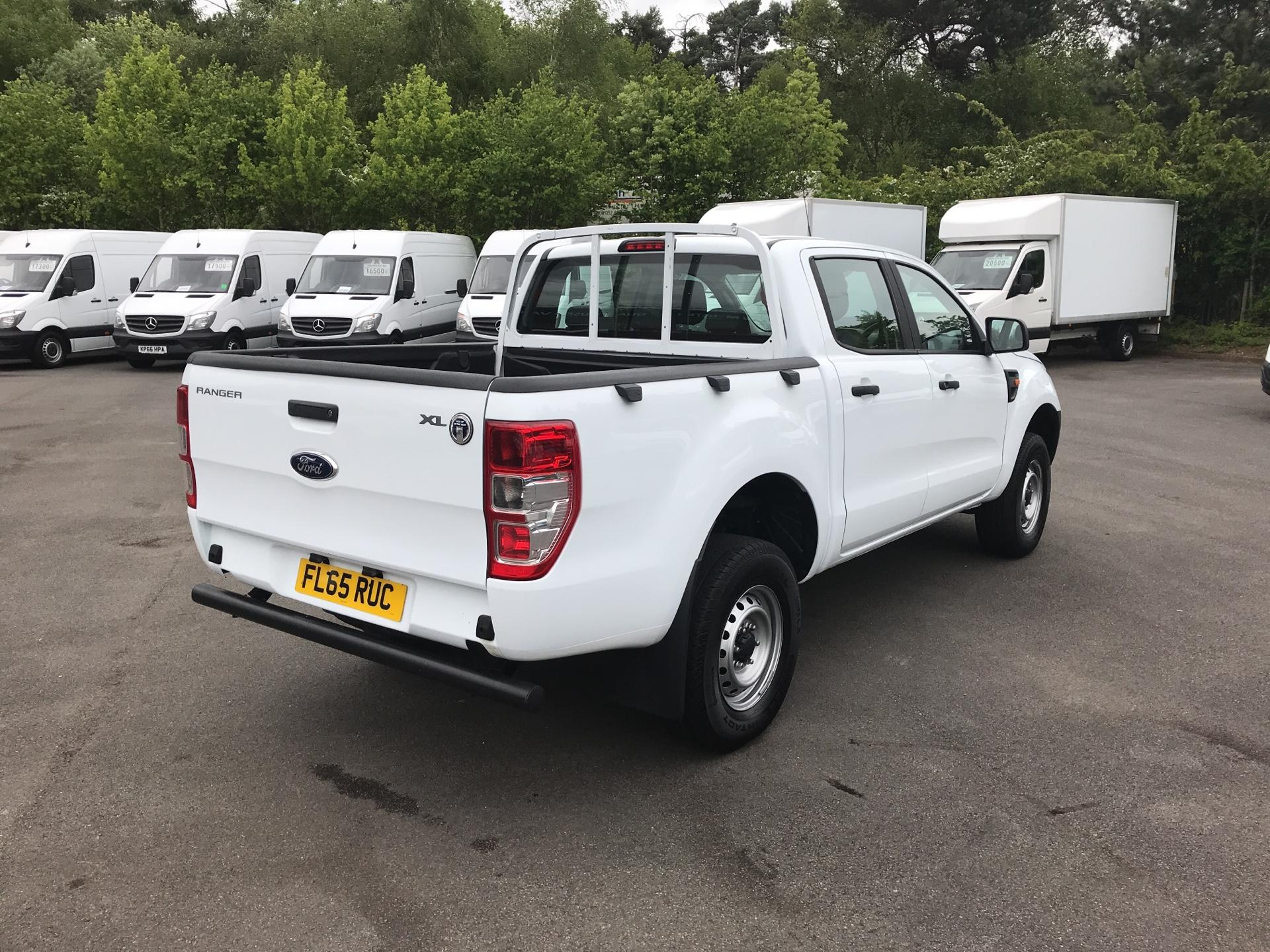 2015 Ford Ranger Pick Up Double Cab Xl 2.2 Tdci 150 4Wd (FL65RUC) Image 3