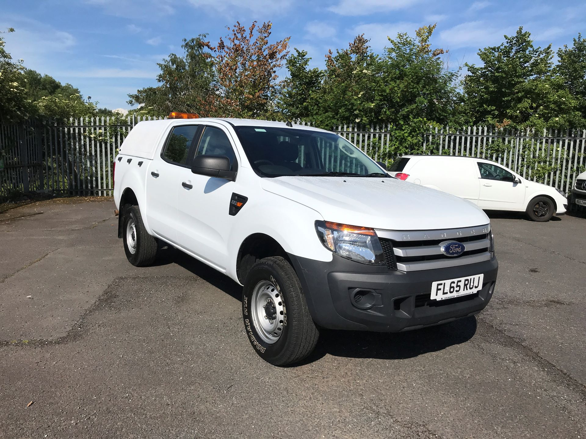 2015 Ford Ranger XL DOUBLE CAB 4X4 2.2TDCI 150PS (FL65RUJ)