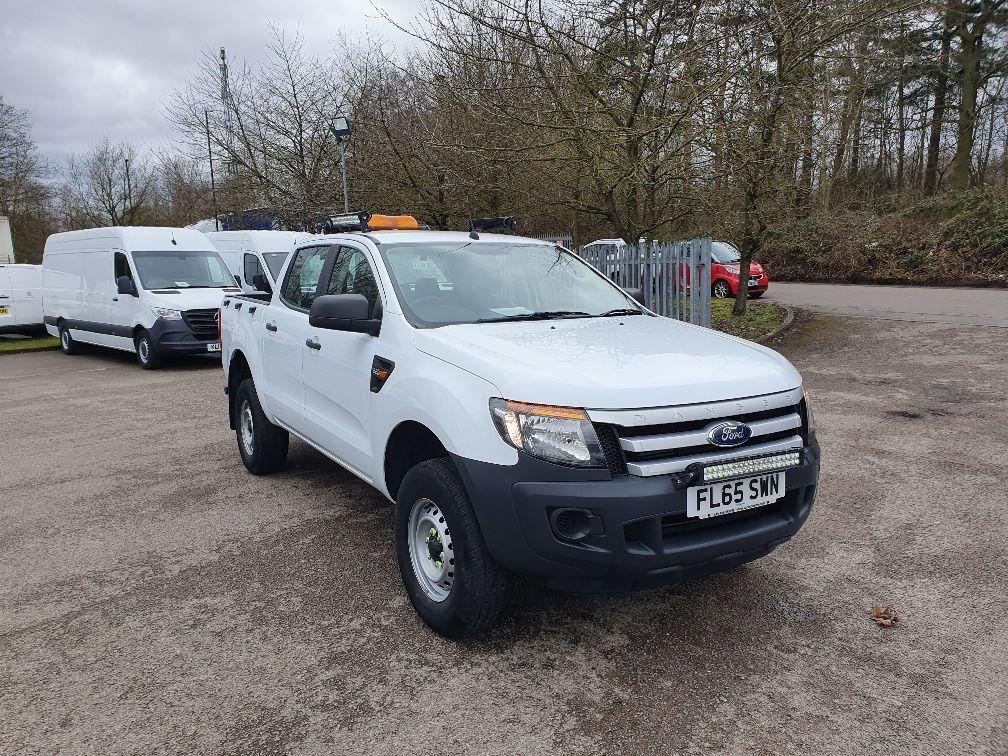 2015 Ford Ranger Pick Up Double Cab Xl 2.2 Tdci 150 4Wd (FL65SWN)