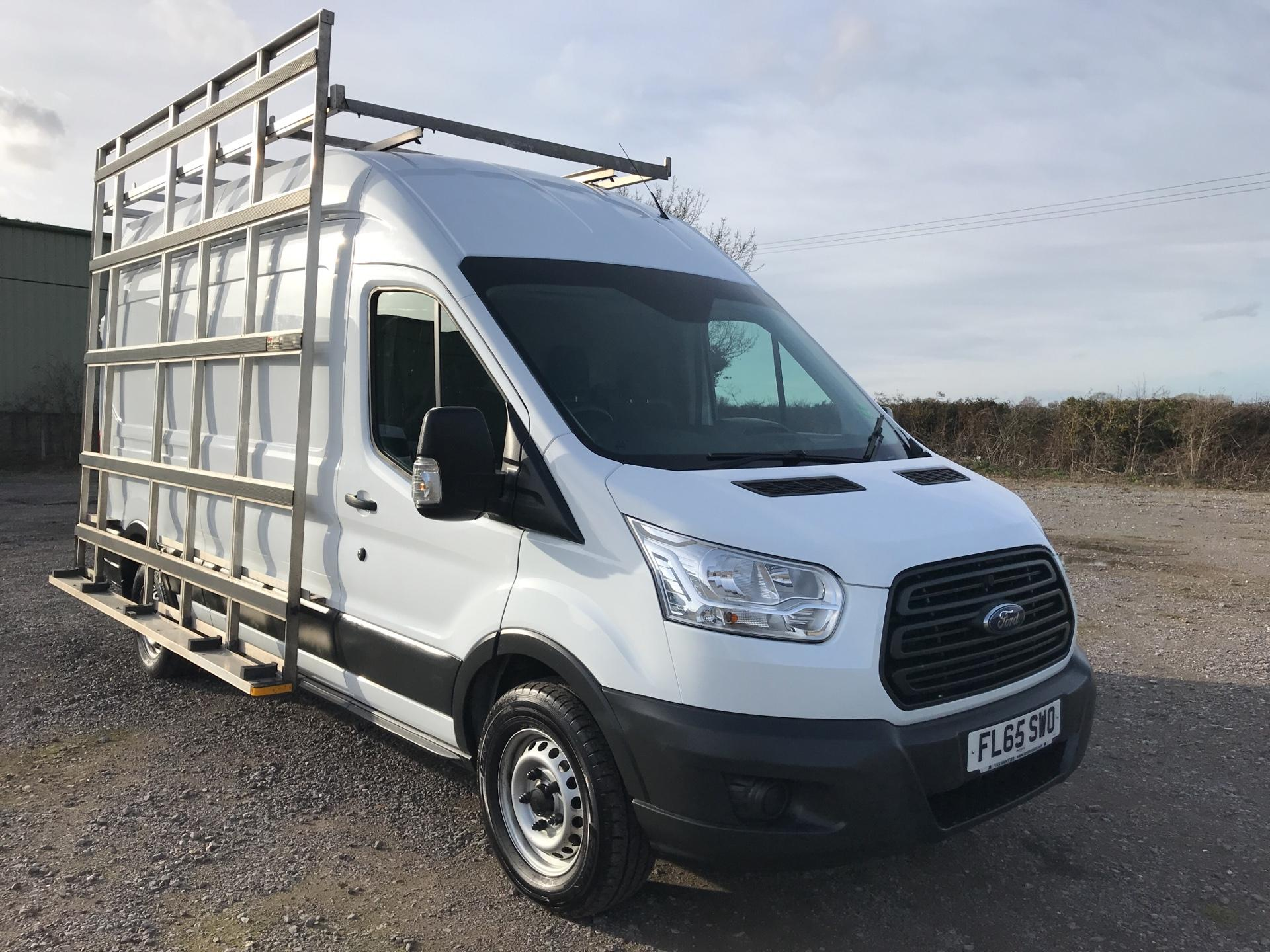 2015 Ford Transit 350 L3H3 VAN 125PS WITH GLASS FRAIL EURO 5 (FL65SWO)
