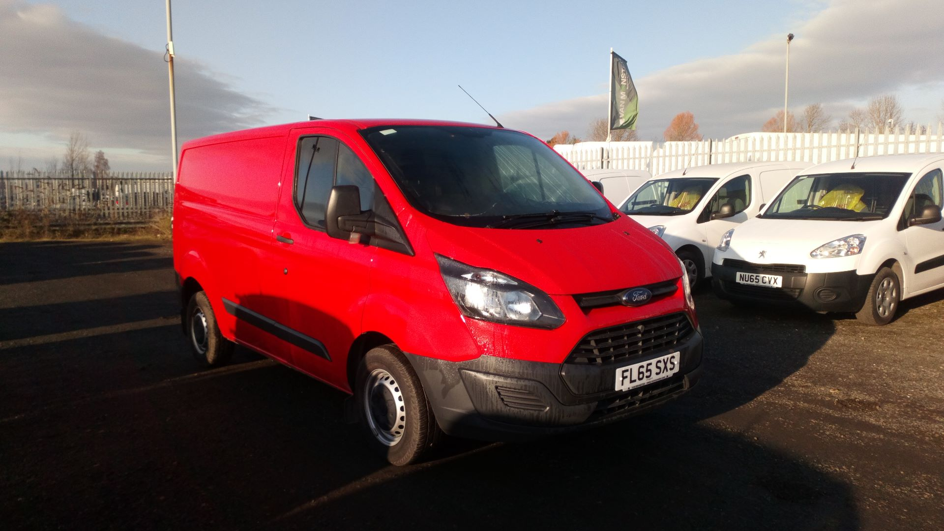 2015 Ford Transit Custom 2.2 Tdci 100Ps Low Roof Van (FL65SXS)