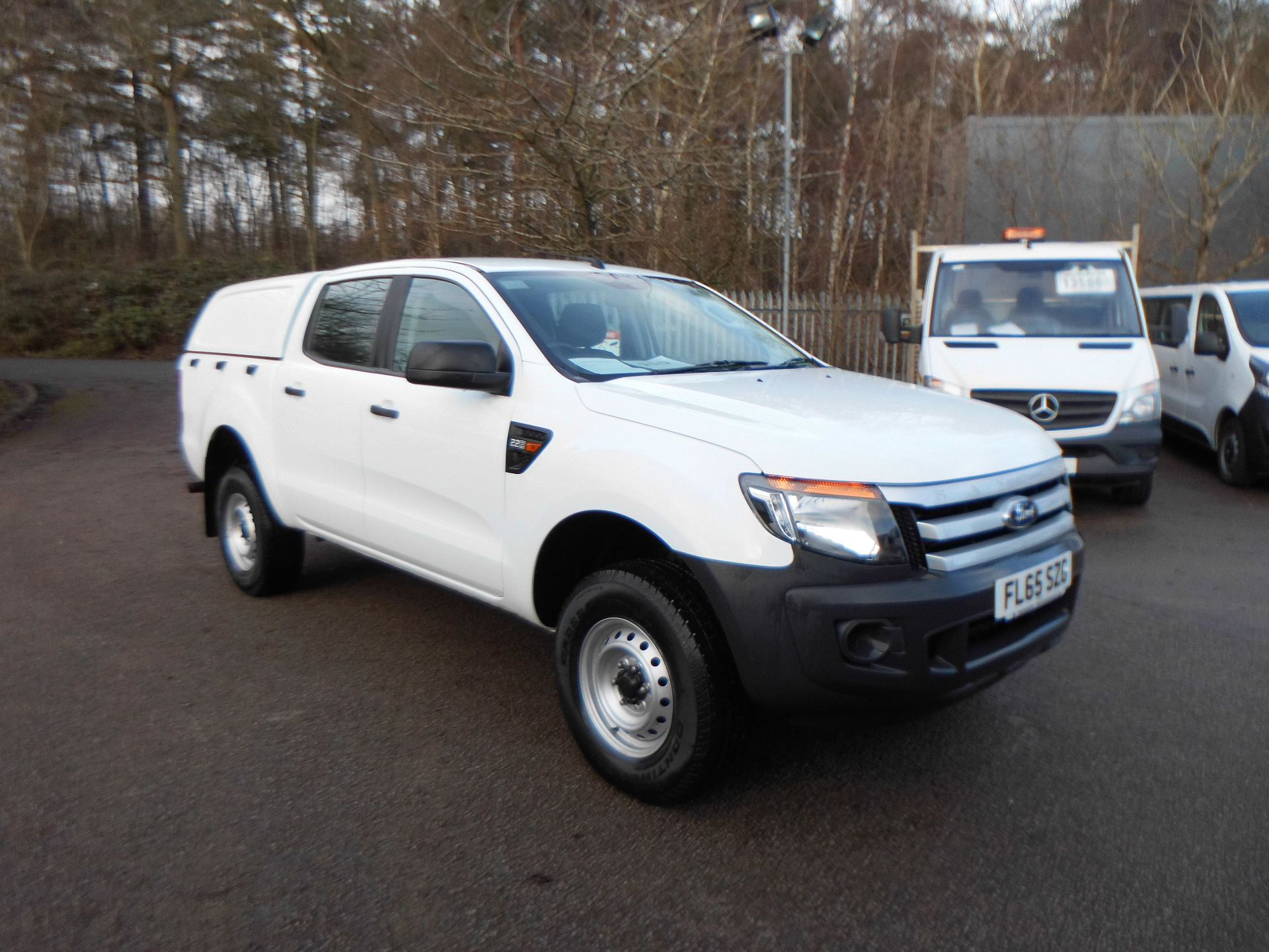 2015 Ford Ranger  Double Cab Pick Up XL 2.2 150 4WD EURO 5 (FL65SZG)