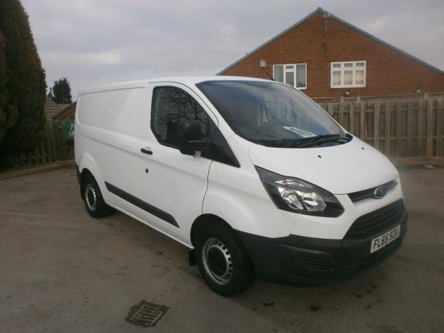 2015 Ford Transit Custom L1 290 SWB 2.2 Tdci 100Ps Low Roof Van (FL65SZU)