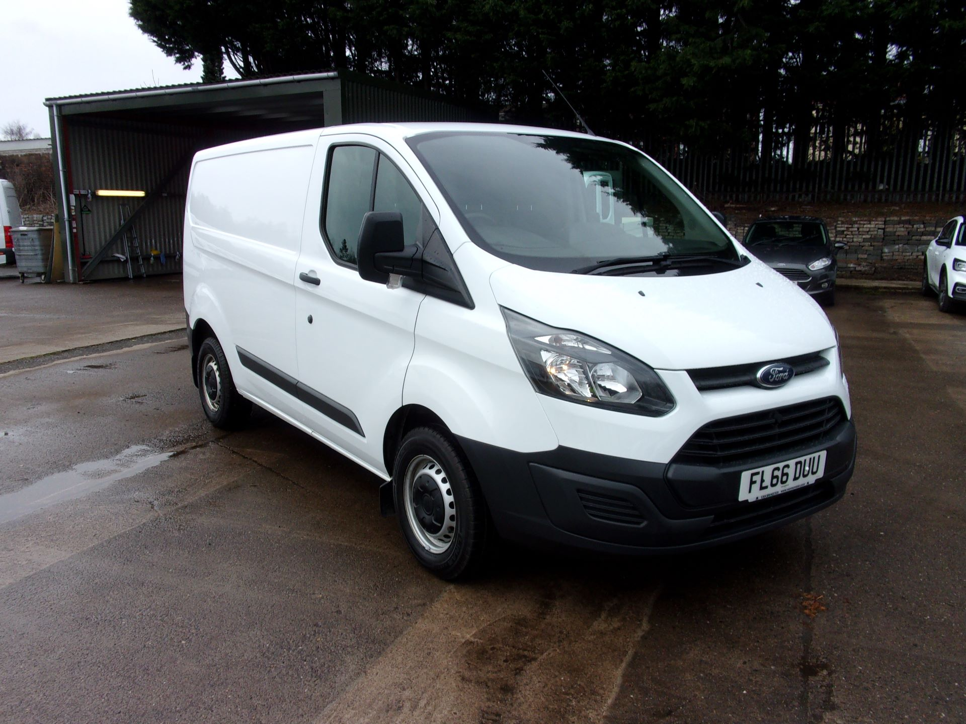2016 Ford Transit Custom 290 L1 DIESEL FWD 2.2 TDCI 100PS LOW ROOF VAN EURO 5 (FL66DUU)