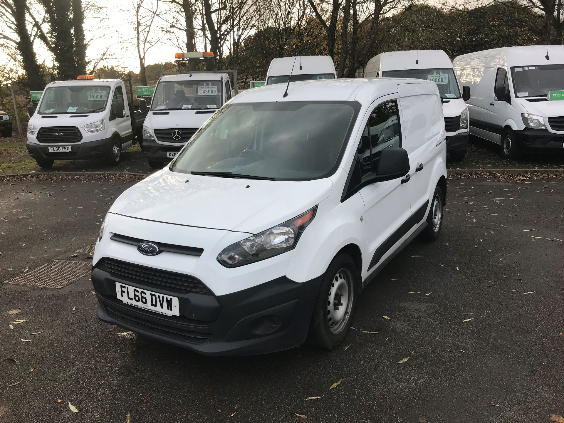 2016 Ford Transit Connect  220 L1 Diesel 1.5 TDCi 75PS Van EURO 6 (FL66DVW) Image 2
