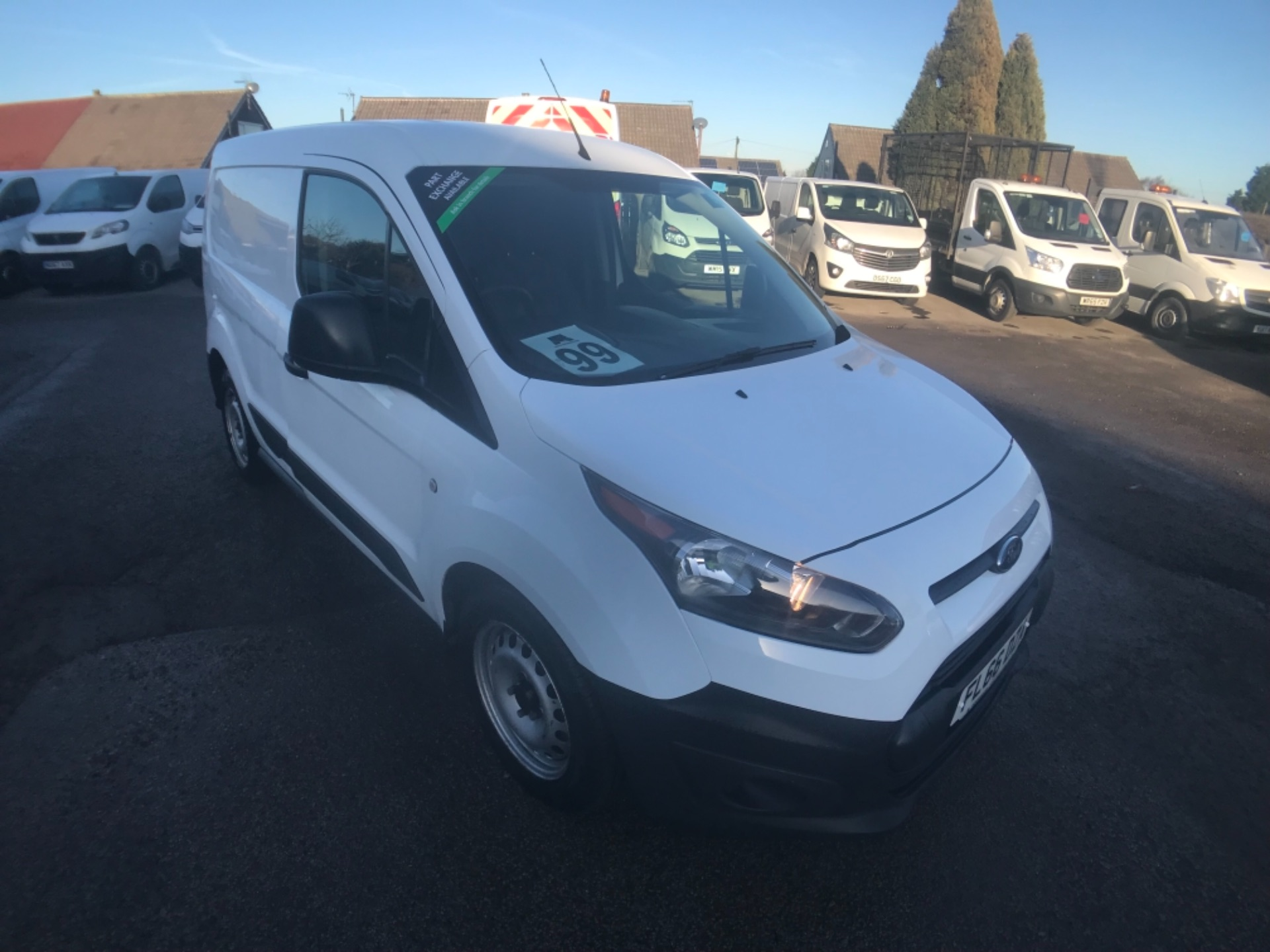 2016 Ford Transit Connect  220 L1 Diesel 1.5 TDCi 75PS Van EURO 6 (FL66DZA)