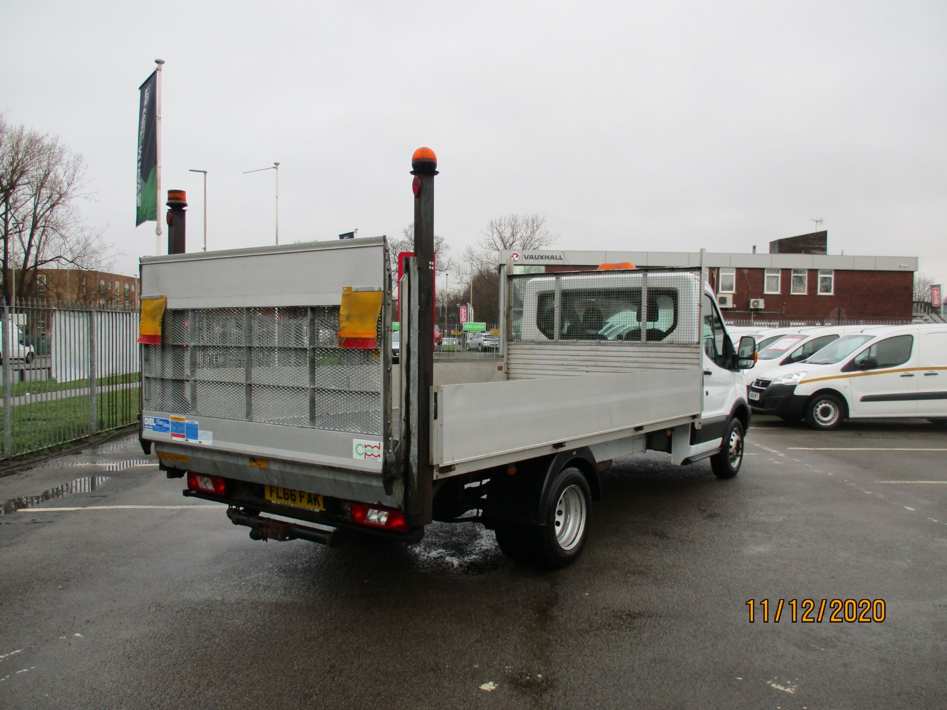 2016 Ford Transit 2.2 Tdci 125Ps Chassis Cab (FL66FAK) Image 7