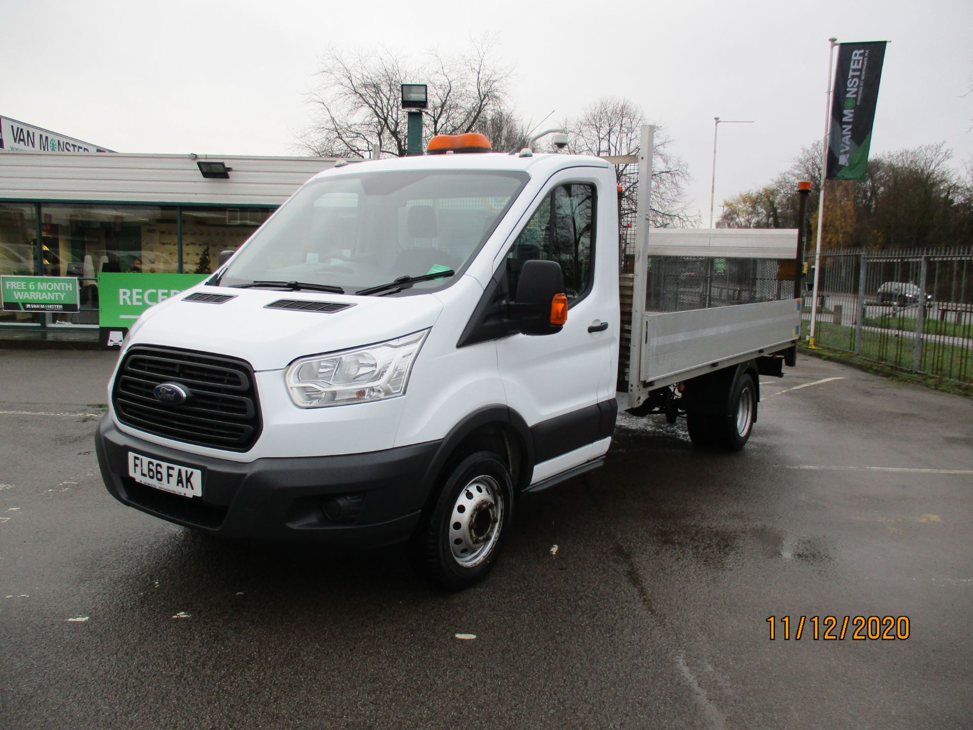 2016 Ford Transit 2.2 Tdci 125Ps Chassis Cab (FL66FAK) Image 3