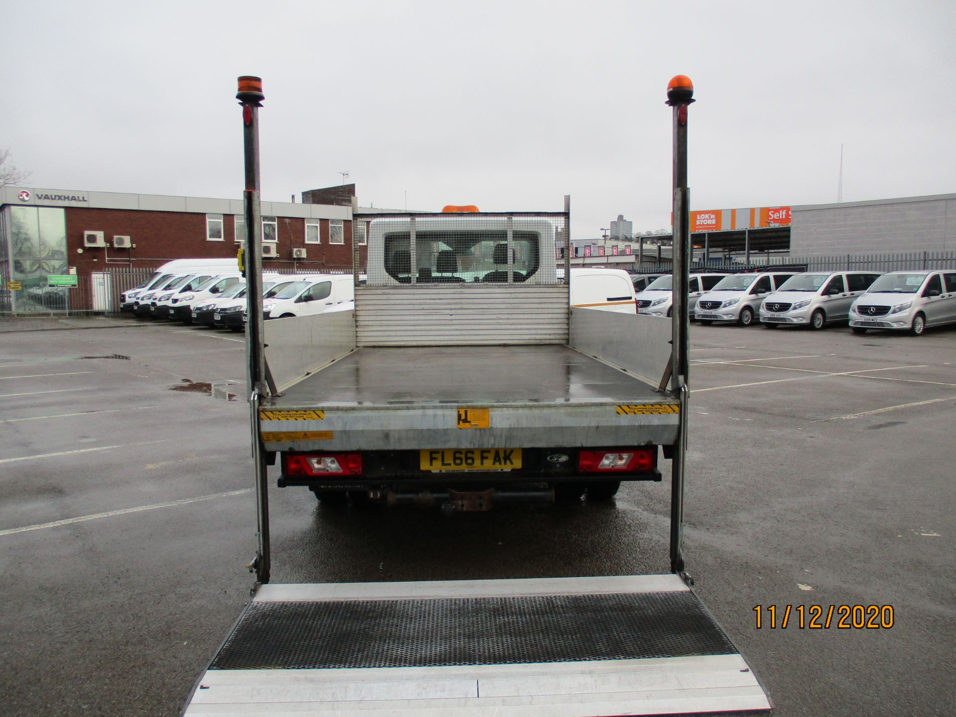 2016 Ford Transit 2.2 Tdci 125Ps Chassis Cab (FL66FAK) Image 10
