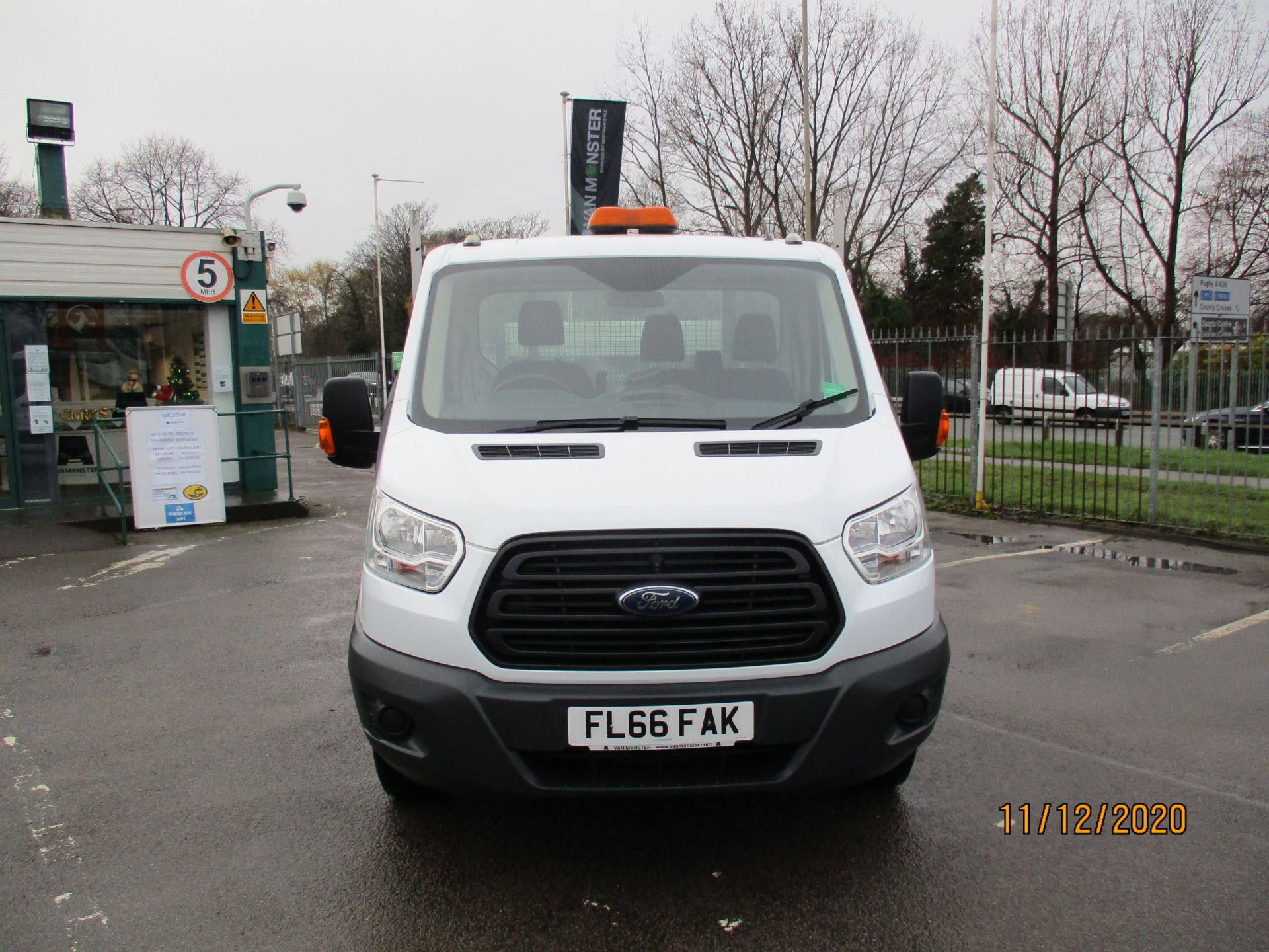 2016 Ford Transit 2.2 Tdci 125Ps Chassis Cab (FL66FAK) Image 2
