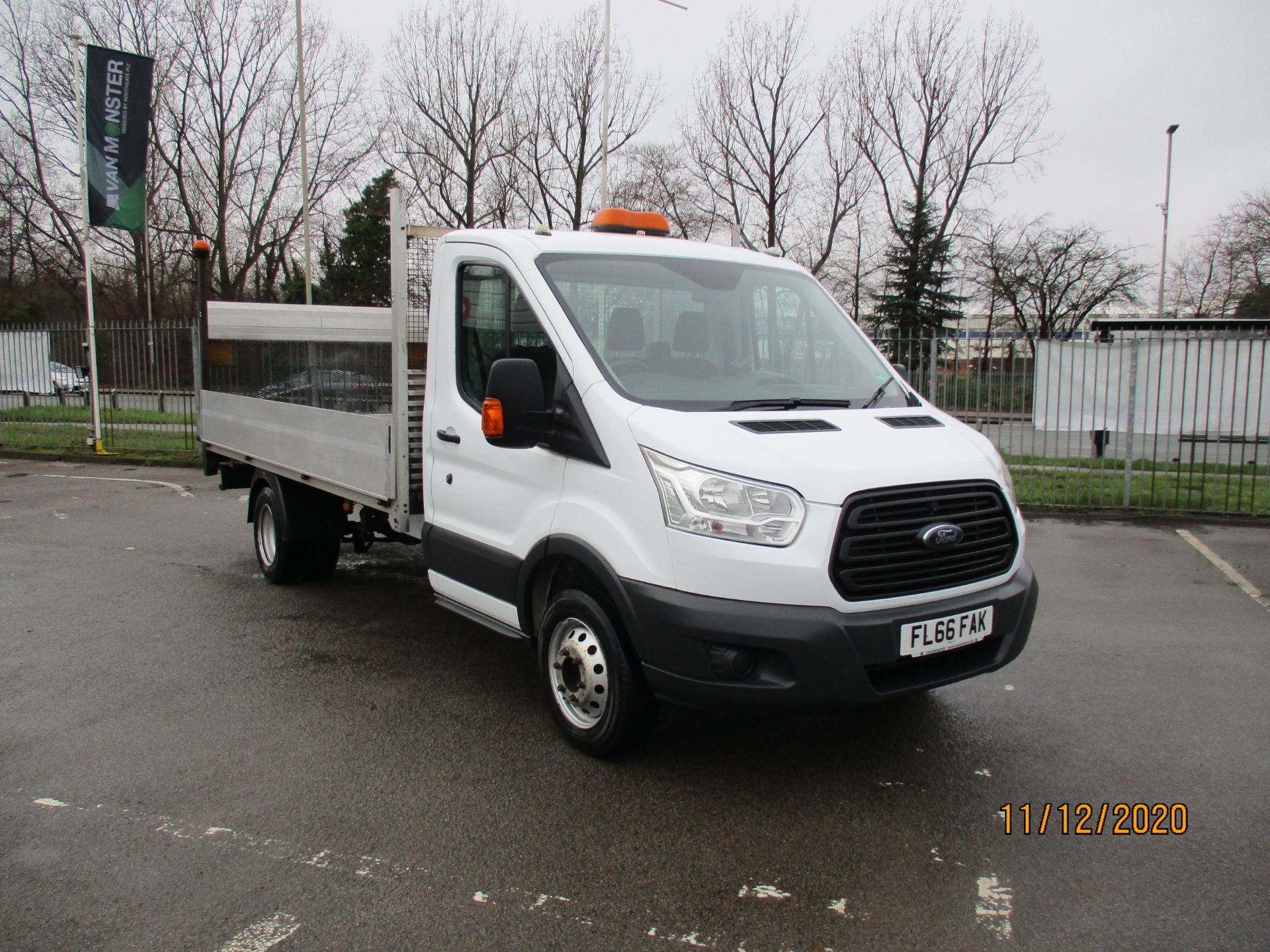 2016 Ford Transit 2.2 Tdci 125Ps Chassis Cab (FL66FAK) Image 1