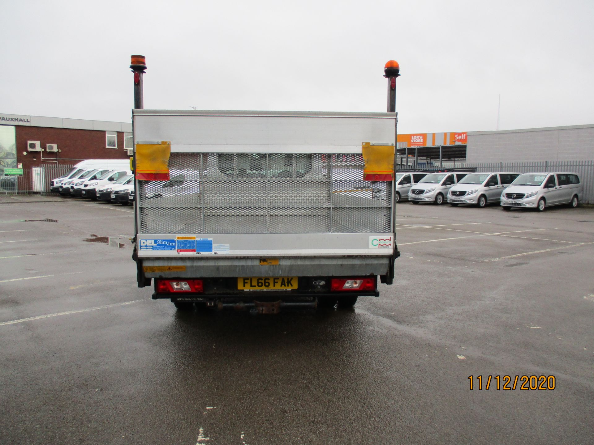 2016 Ford Transit 2.2 Tdci 125Ps Chassis Cab (FL66FAK) Image 6
