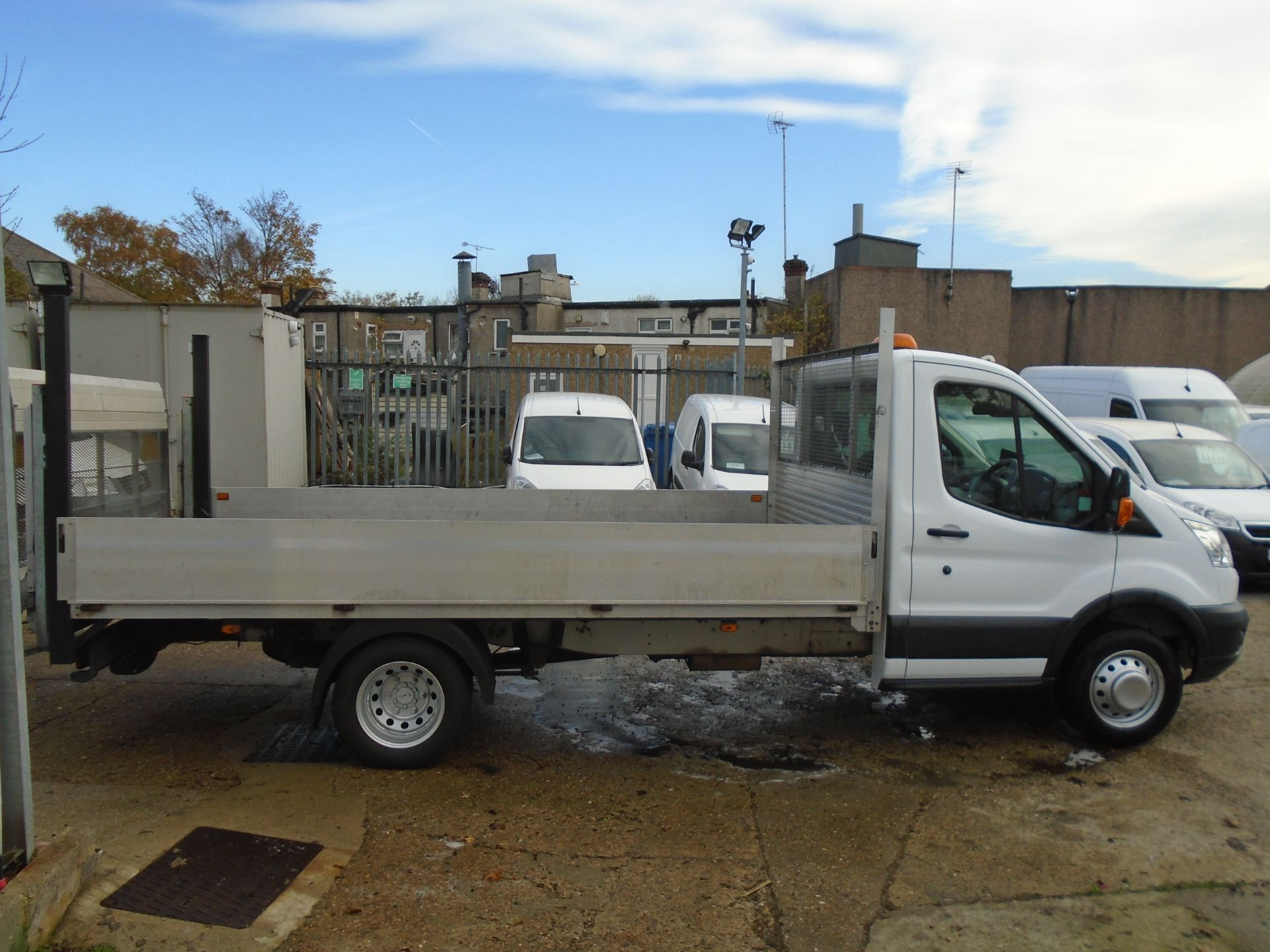 2016 Ford Transit 2.2 Tdci 125Ps Chassis Cab (FL66FCA) Image 8