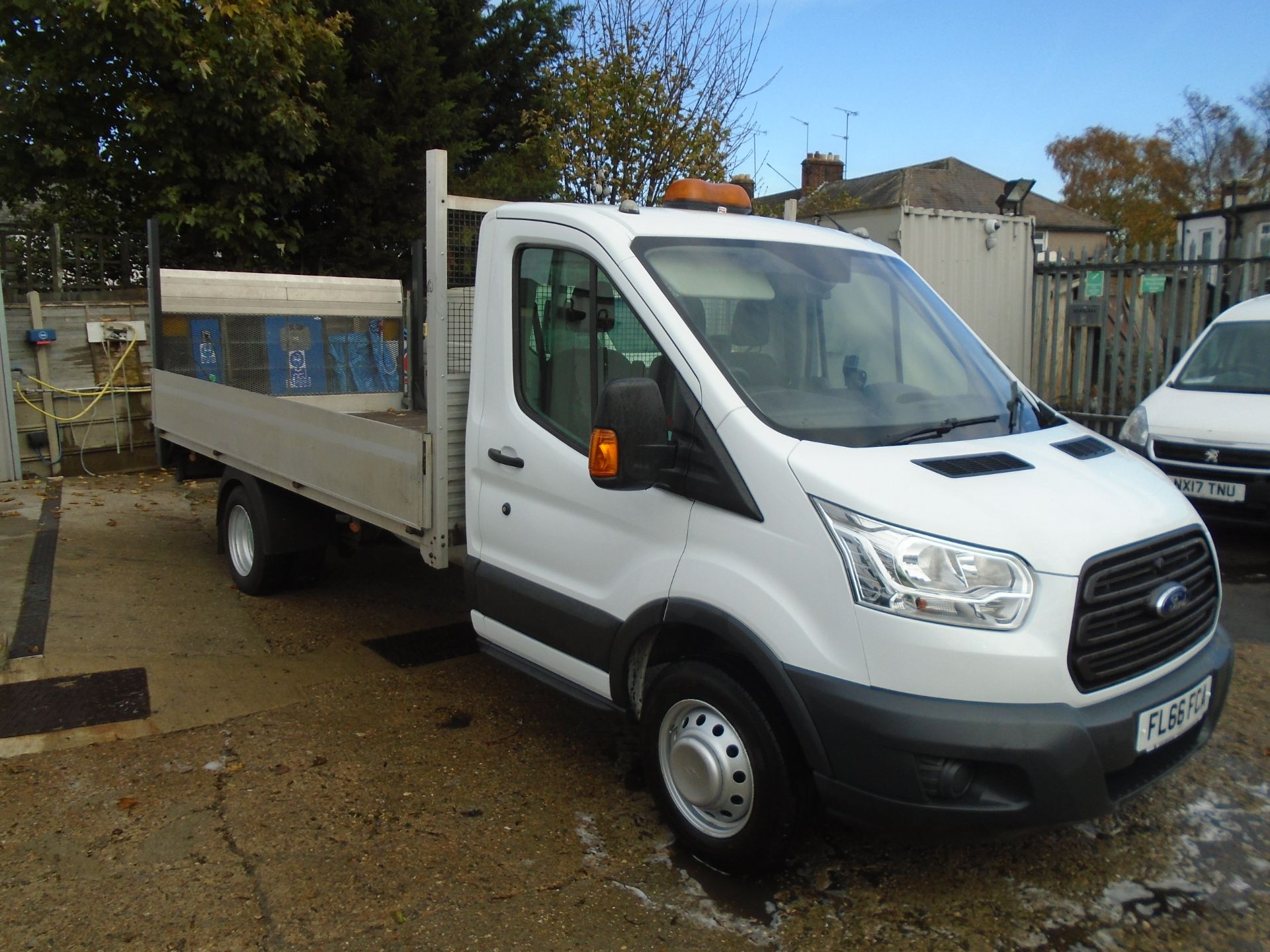 2016 Ford Transit 2.2 Tdci 125Ps Drop side with Tail lift Euro 5 (FL66FCA)