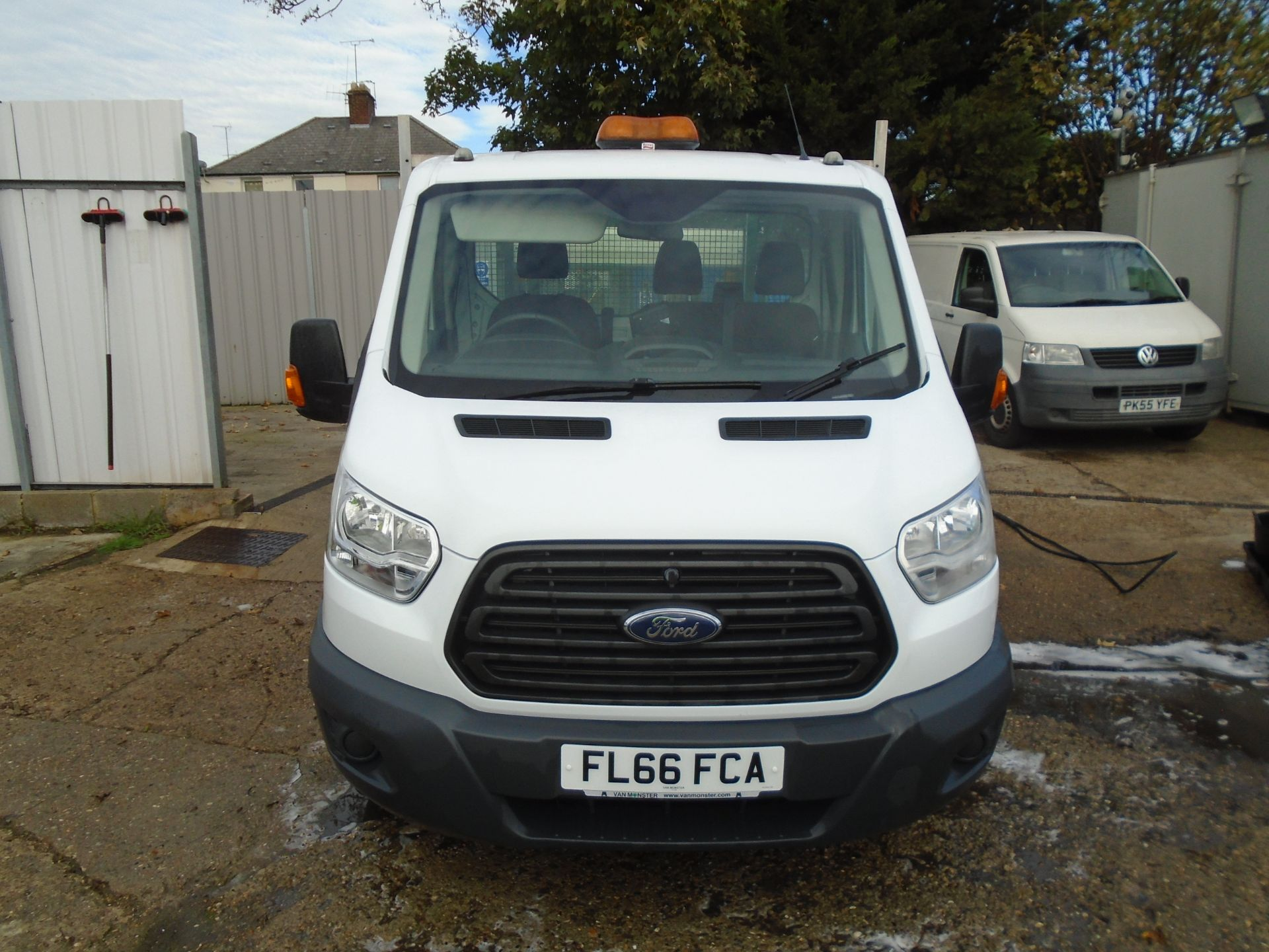2016 Ford Transit 2.2 Tdci 125Ps Chassis Cab (FL66FCA) Image 2