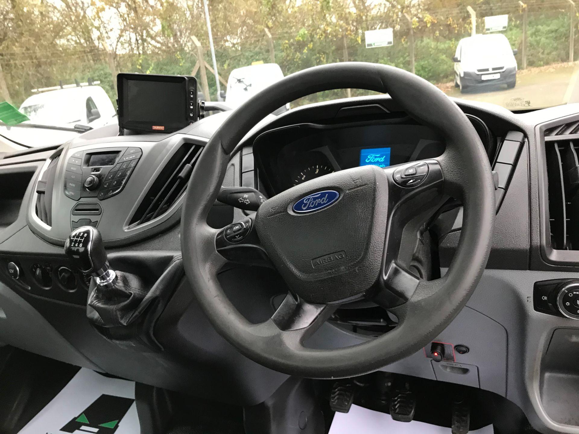 2016 Ford Transit 350 L3 DROP SIDE 125PS EURO 5 T/L (FL66FDP) Image 17