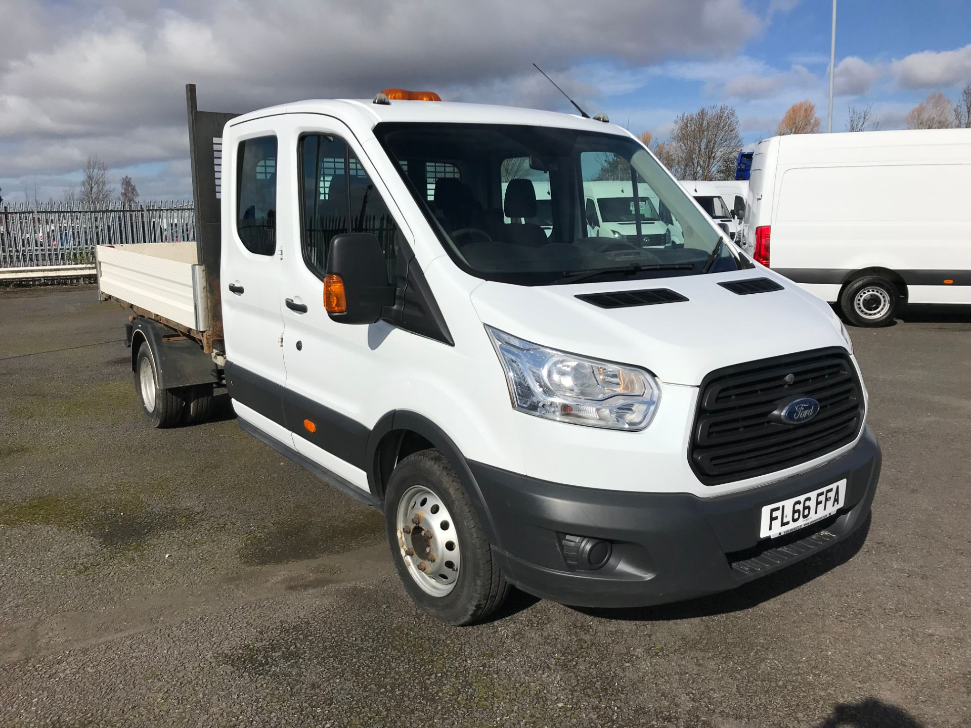 2016 Ford Transit 2.2 Tdci 125Ps Double Cab Chassis (FL66FFA)