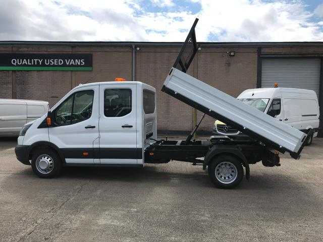 2018 Ford Transit T350 DOUBLE CAB TIPPER 130PS EURO 6 (FL67GEU) Image 6