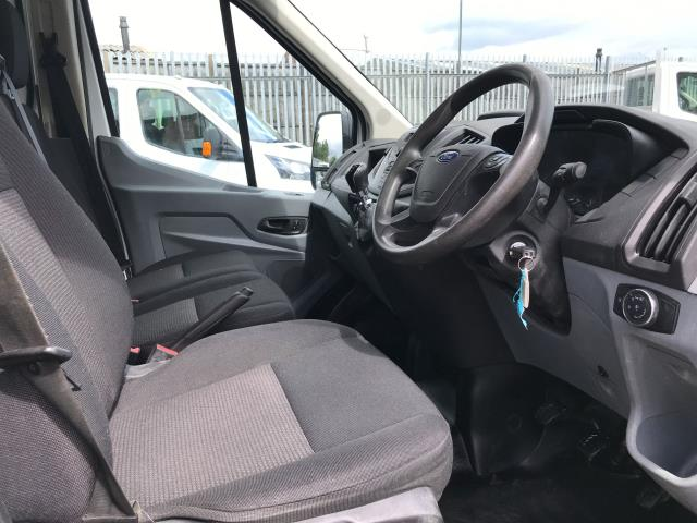 2018 Ford Transit T350 DOUBLE CAB TIPPER 130PS EURO 6 (FL67GEU) Image 17