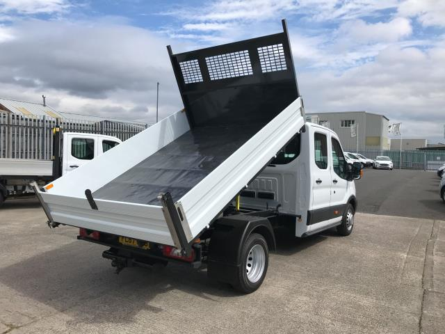 2018 Ford Transit T350 DOUBLE CAB TIPPER 130PS EURO 6 (FL67GEU) Image 3