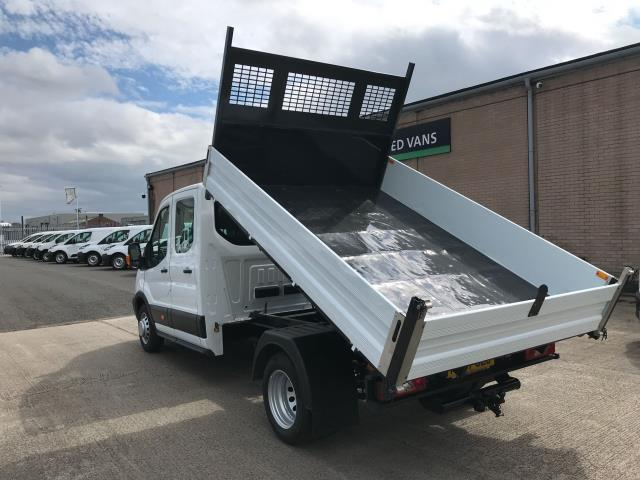 2018 Ford Transit T350 DOUBLE CAB TIPPER 130PS EURO 6 (FL67GEU) Image 4