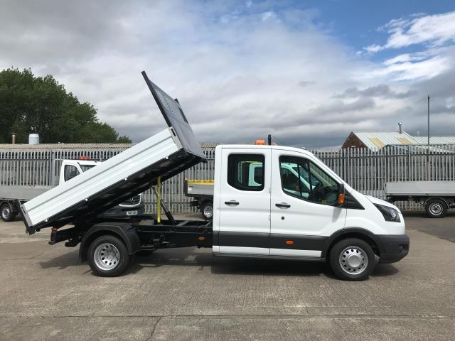 2018 Ford Transit T350 DOUBLE CAB TIPPER 130PS EURO 6 (FL67GEU) Image 5