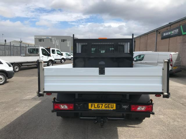 2018 Ford Transit T350 DOUBLE CAB TIPPER 130PS EURO 6 (FL67GEU) Image 19