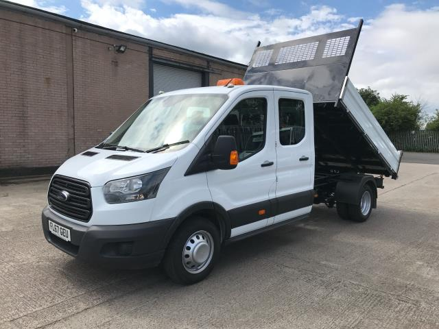 2018 Ford Transit T350 DOUBLE CAB TIPPER 130PS EURO 6 (FL67GEU) Image 2