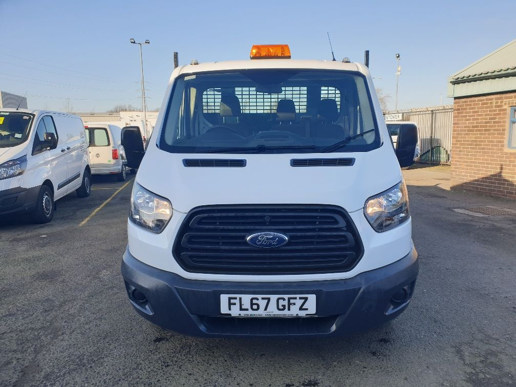 2018 Ford Transit 350 L2 SINGLE CAB TIPPER 130PS EURO 6 *SPEED RESTRICTER SET @ 72mph* (FL67GFZ) Image 3