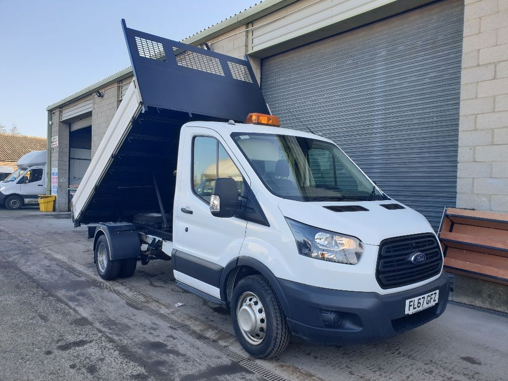2018 Ford Transit 350 L2 SINGLE CAB TIPPER 130PS EURO 6 *SPEED RESTRICTER SET @ 72mph* (FL67GFZ)