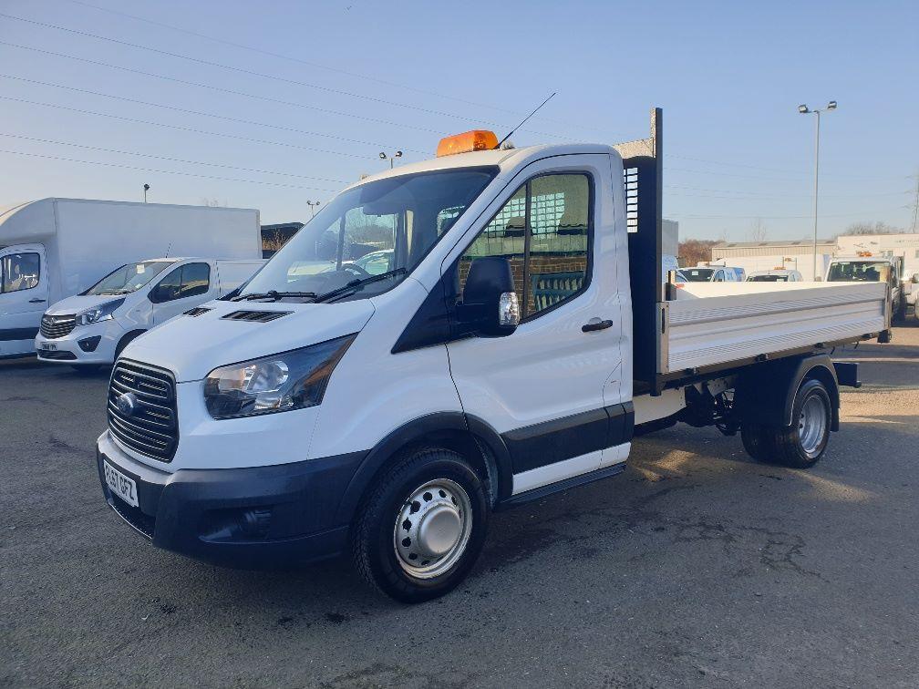 2018 Ford Transit 350 L2 SINGLE CAB TIPPER 130PS EURO 6 *SPEED RESTRICTER SET @ 72mph* (FL67GFZ) Image 4