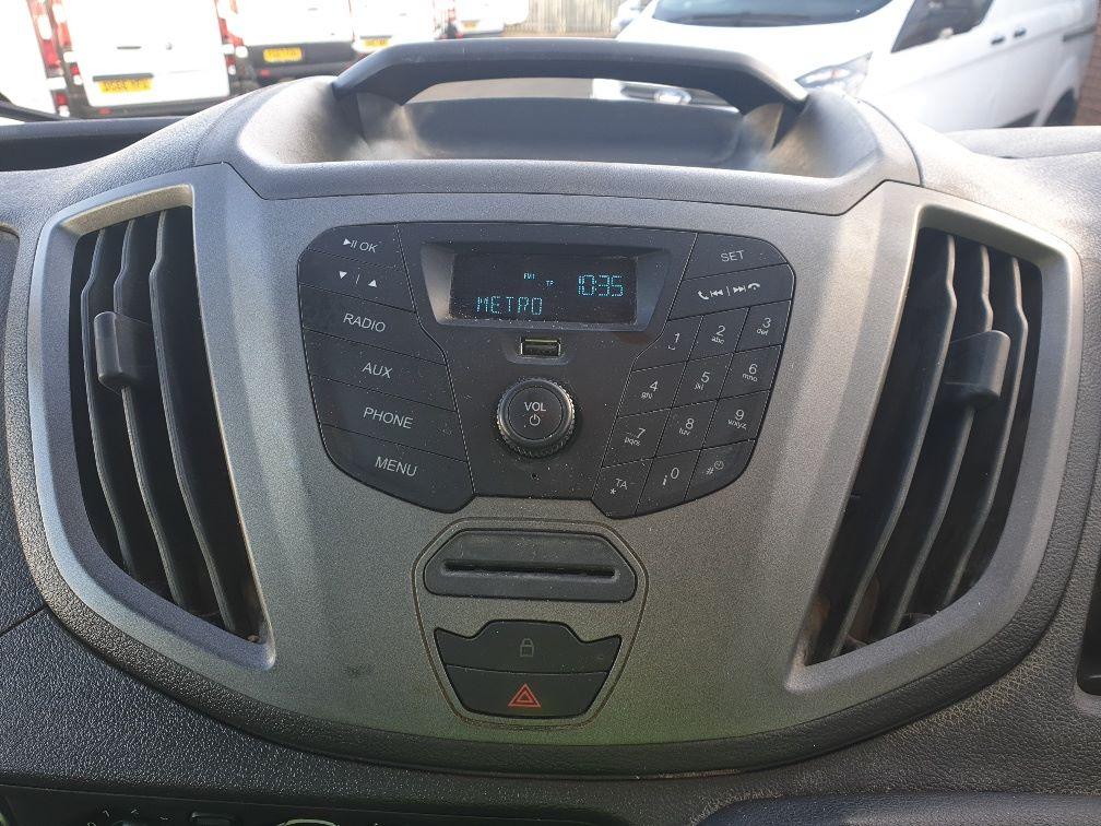 2018 Ford Transit 350 L2 SINGLE CAB TIPPER 130PS EURO 6 *SPEED RESTRICTER SET @ 72mph* (FL67GFZ) Image 21