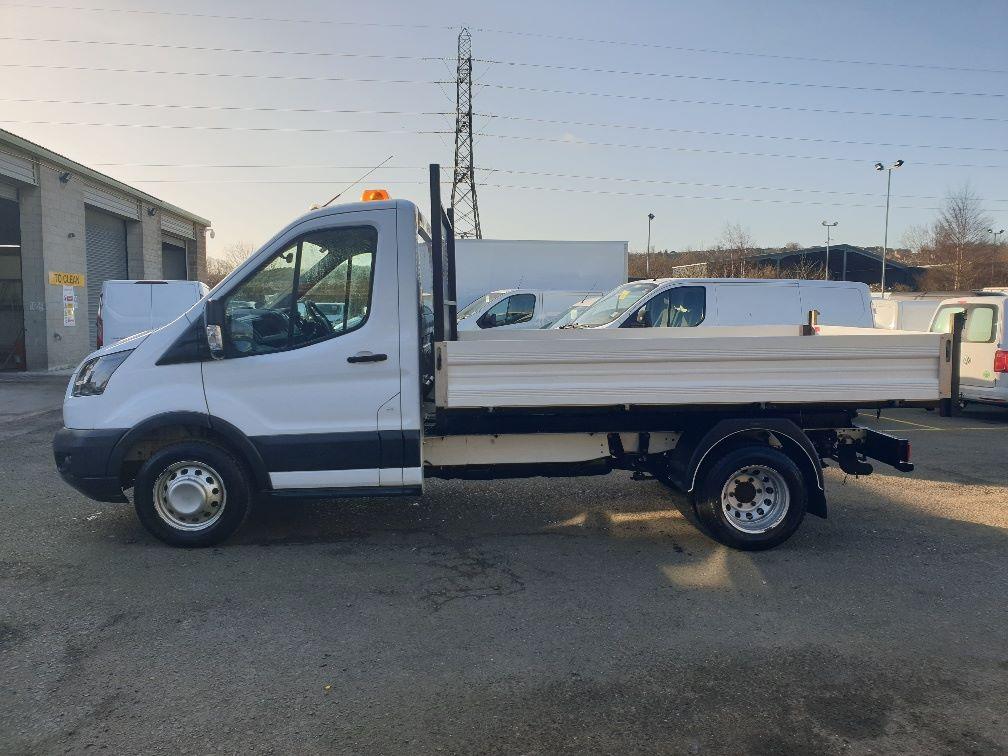 2018 Ford Transit 350 L2 SINGLE CAB TIPPER 130PS EURO 6 *SPEED RESTRICTER SET @ 72mph* (FL67GFZ) Image 5