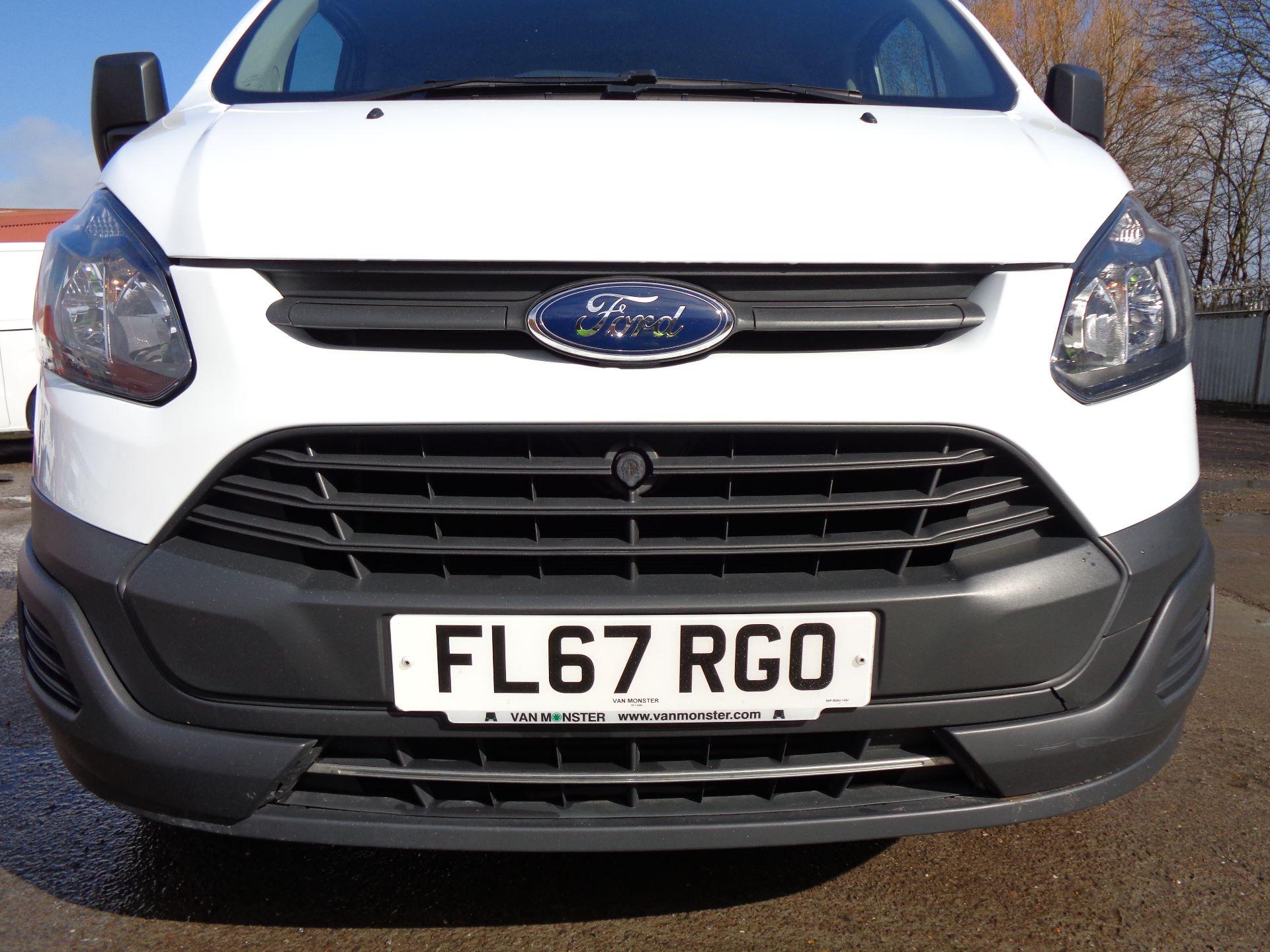 2017 Ford Transit Custom  290 L1 DIESEL FWD 2.0 TDCI 105PS LOW ROOF VAN EURO 6 (FL67RGO) Image 22
