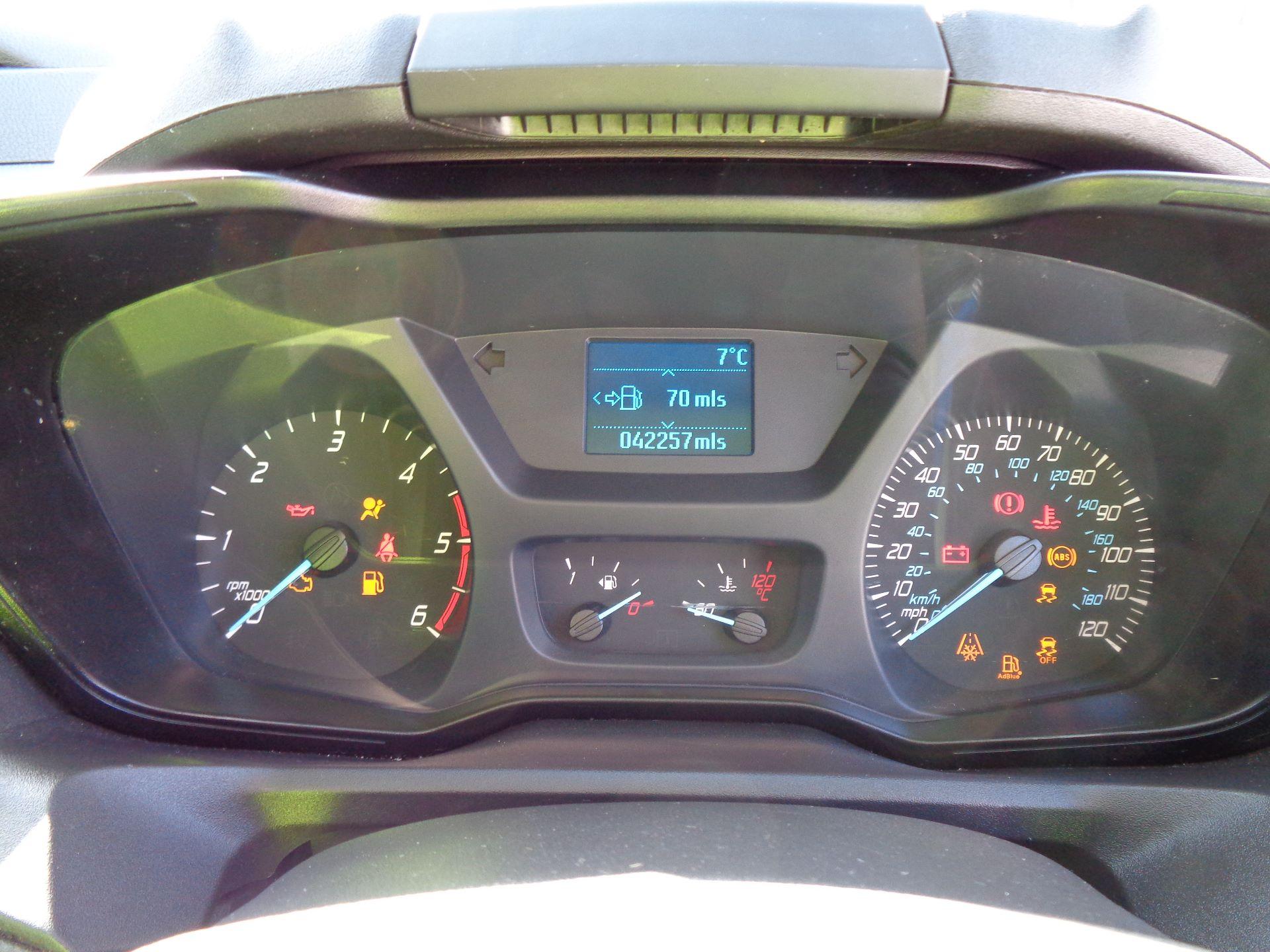 2017 Ford Transit Custom  290 L1 DIESEL FWD 2.0 TDCI 105PS LOW ROOF VAN EURO 6 (FL67RGO) Image 18