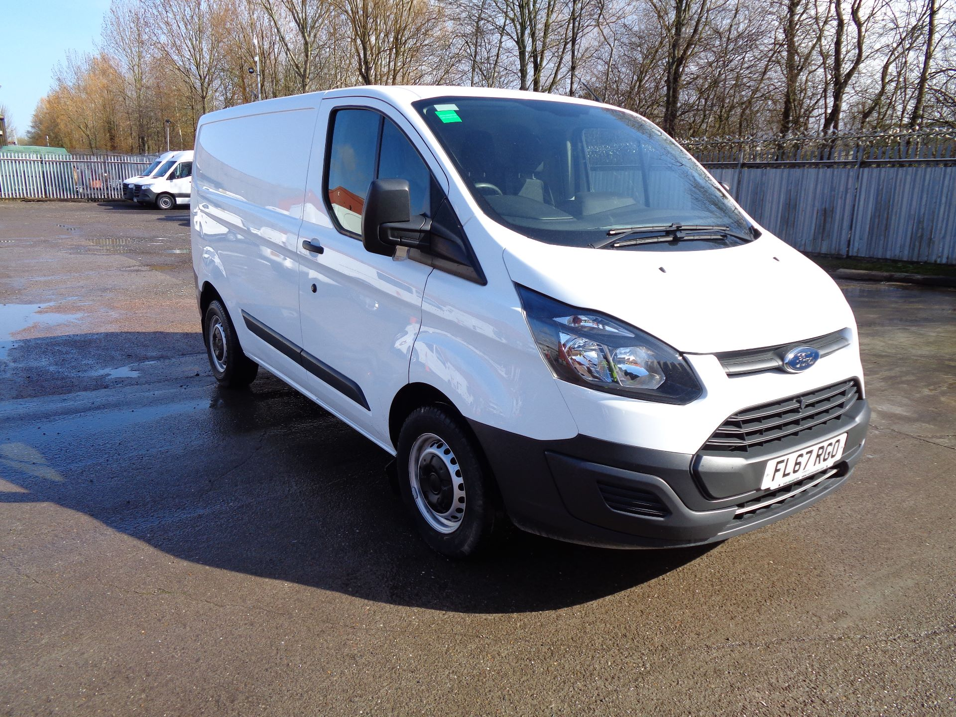 2017 Ford Transit Custom  290 L1 DIESEL FWD 2.0 TDCI 105PS LOW ROOF VAN EURO 6 (FL67RGO)