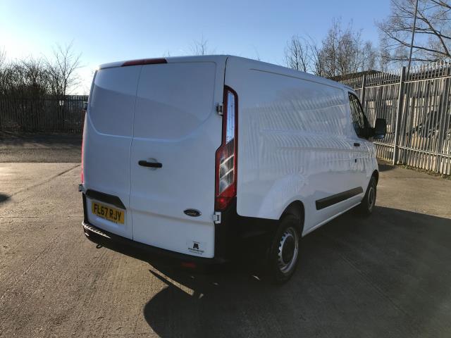 2017 Ford Transit Custom  290 L1 2.0TDCI 105PS LOW ROOF EURO 6 (FL67RJY) Image 8