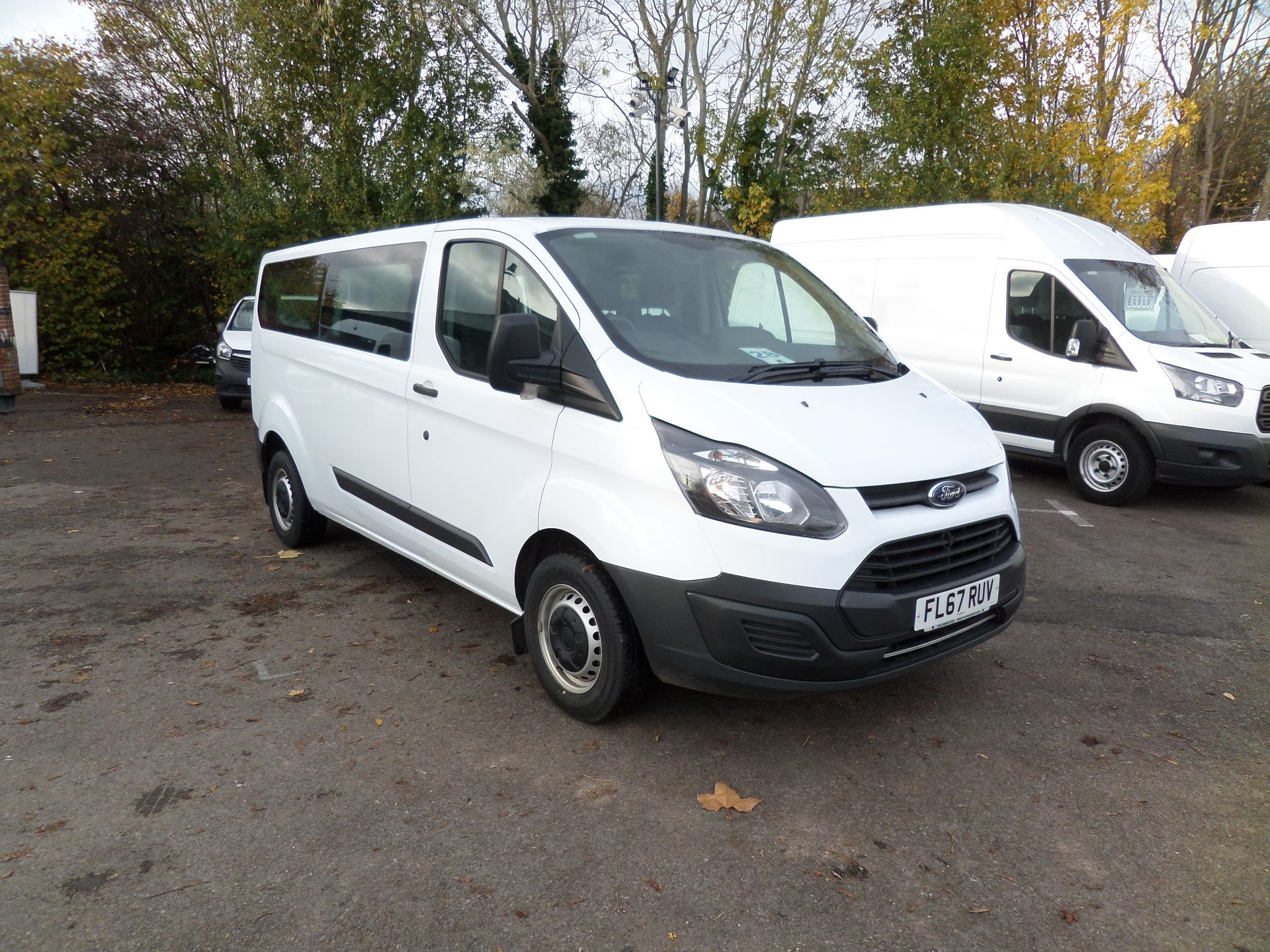 2017 Ford Transit Custom 2.0 Tdci 130Ps Low Roof Kombi 9 Seater MinibusVan Euro 6 (FL67RUV)