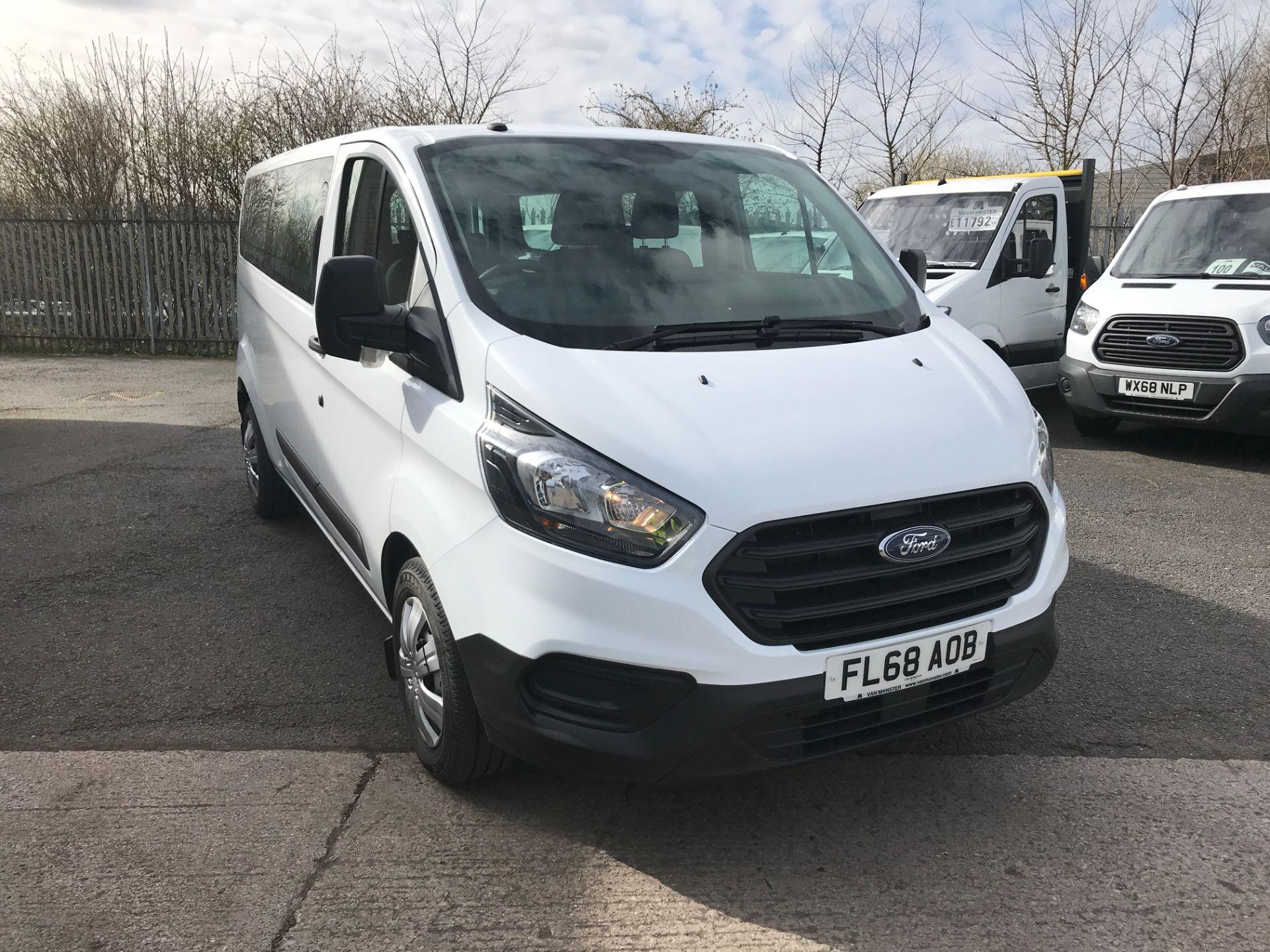 2018 Ford Transit Custom 320 L2 2.0TDCI 130PS 9 SEAT MINIBUS EURO 6 (FL68AOB)