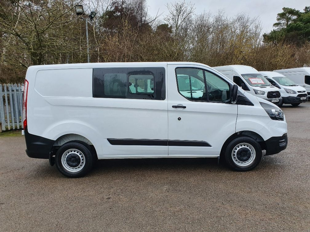 2018 Ford Transit Custom CREW 300 BASE 2.0 105PS EURO 6 (FL68AWJ) Thumbnail 4