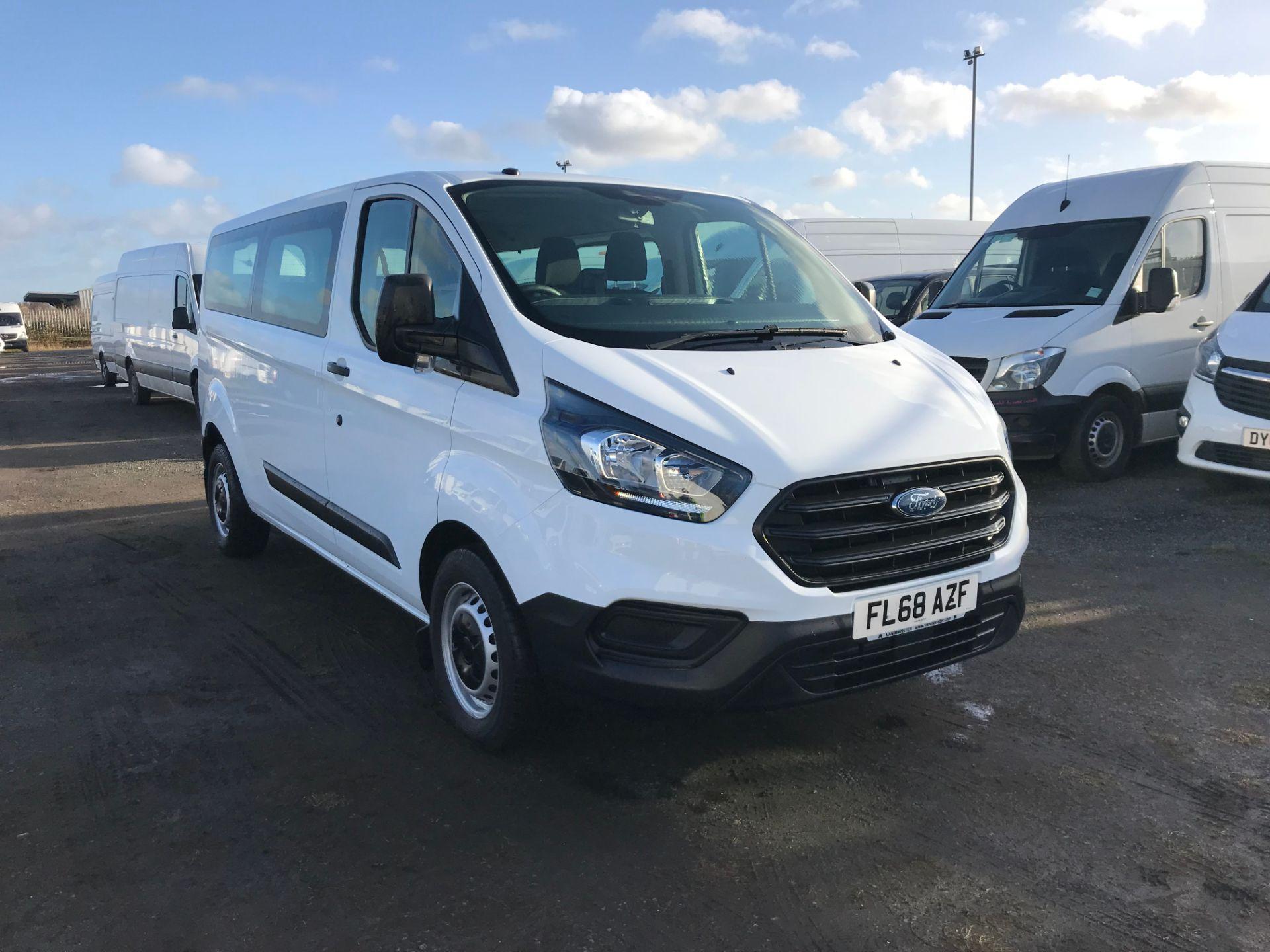 2018 Ford Transit Custom 2.0 Tdci 130Ps Low Roof Kombi Van (FL68AZF)