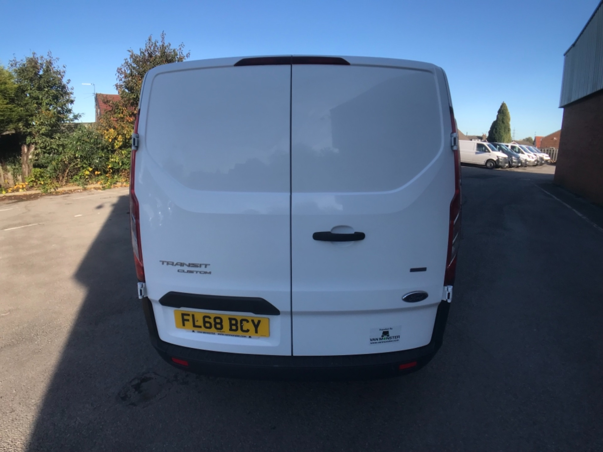 2018 Ford Transit Custom 300 2.0 Tdci 105Ps Low Roof Van Euro 6 (FL68BCY) Image 6