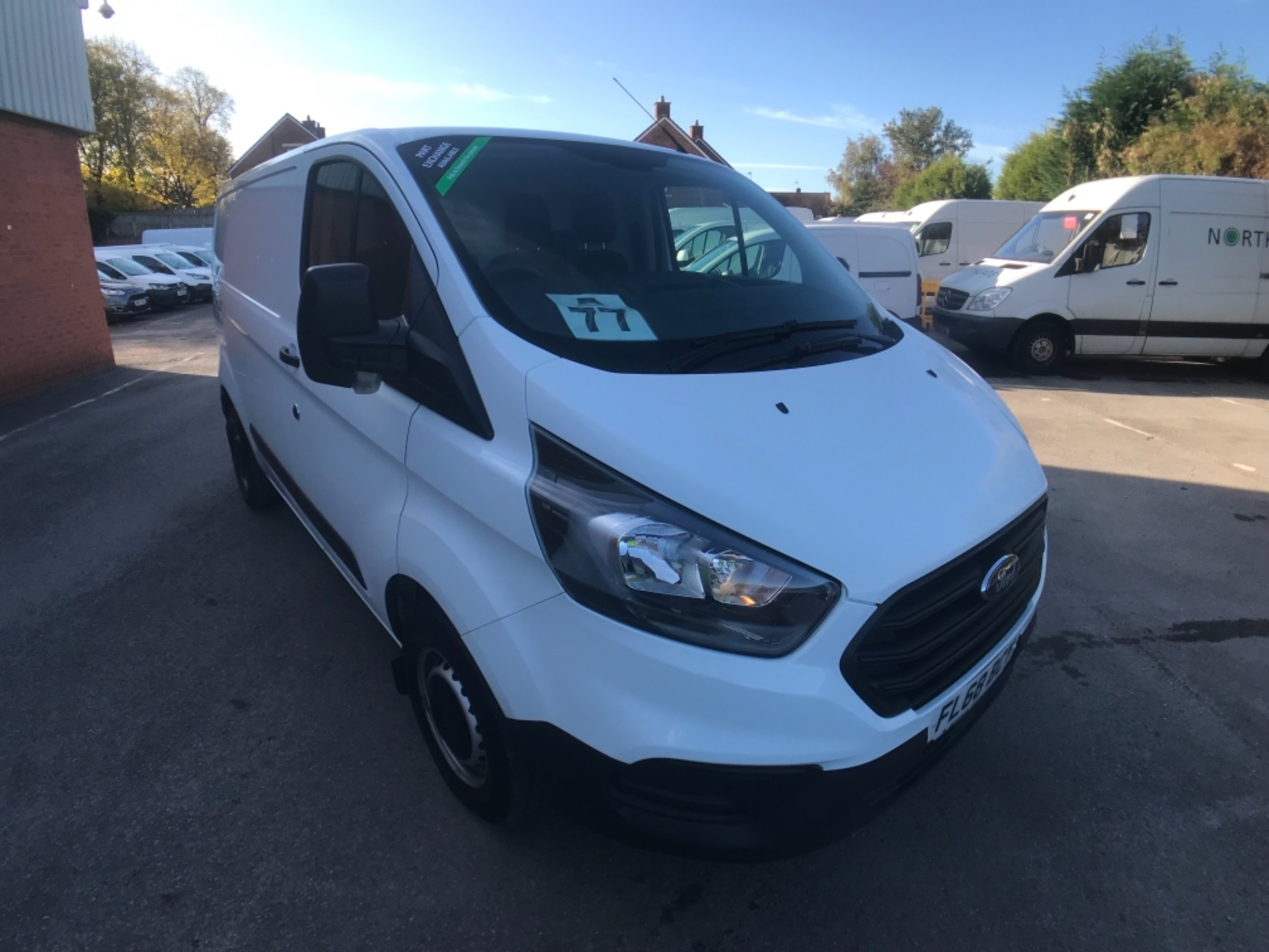2018 Ford Transit Custom 300 2.0 Tdci 105Ps Low Roof Van Euro 6 (FL68BCY) Image 1