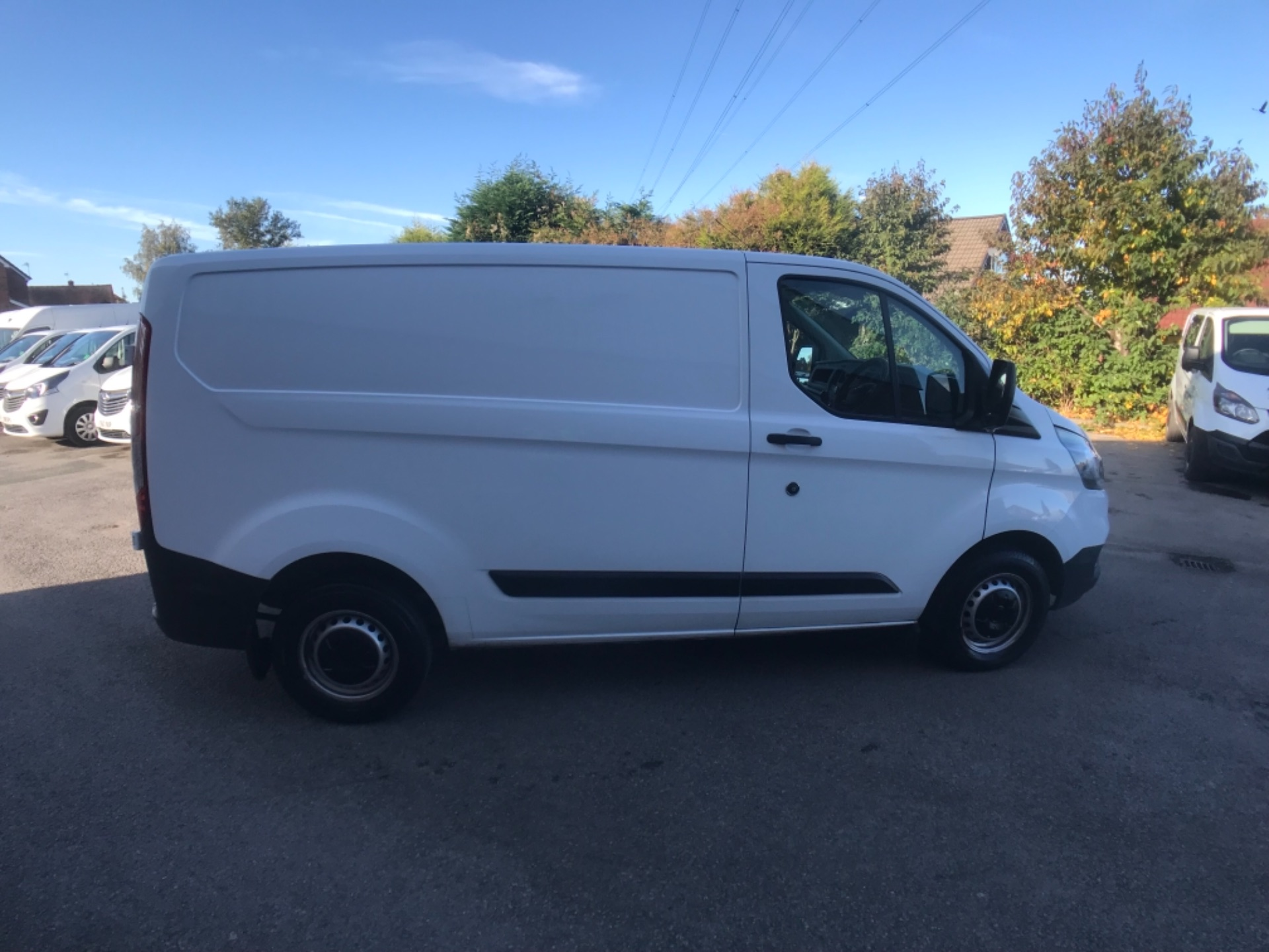 2018 Ford Transit Custom 300 2.0 Tdci 105Ps Low Roof Van Euro 6 (FL68BCY) Image 8