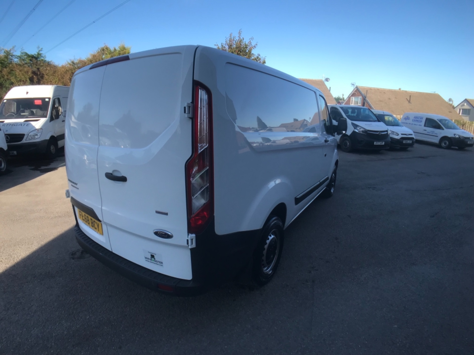 2018 Ford Transit Custom 300 2.0 Tdci 105Ps Low Roof Van Euro 6 (FL68BCY) Image 7