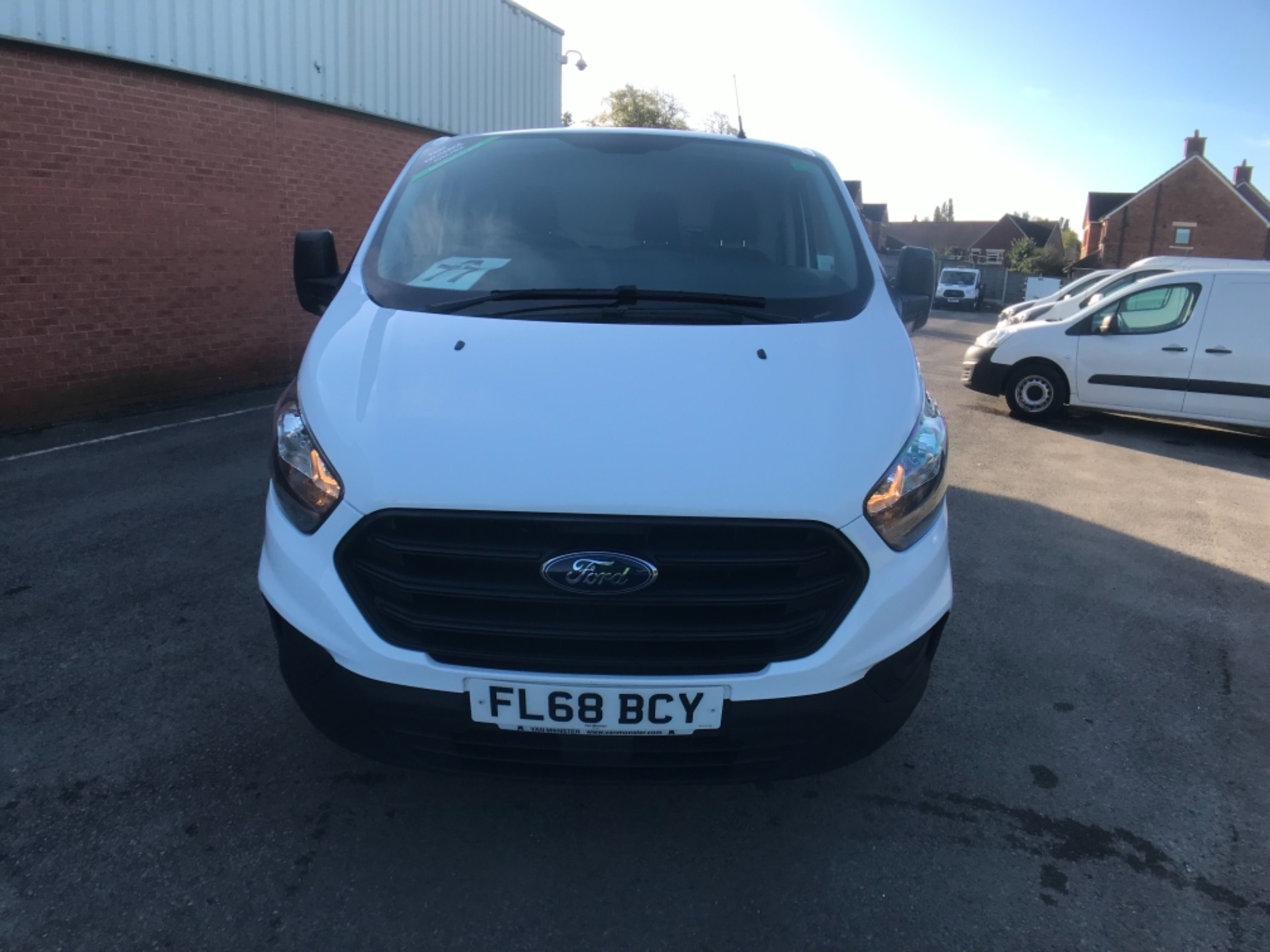 2018 Ford Transit Custom 300 2.0 Tdci 105Ps Low Roof Van Euro 6 (FL68BCY) Image 2